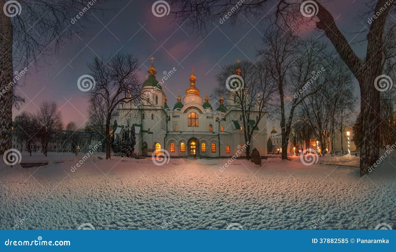 De winter in Sofia