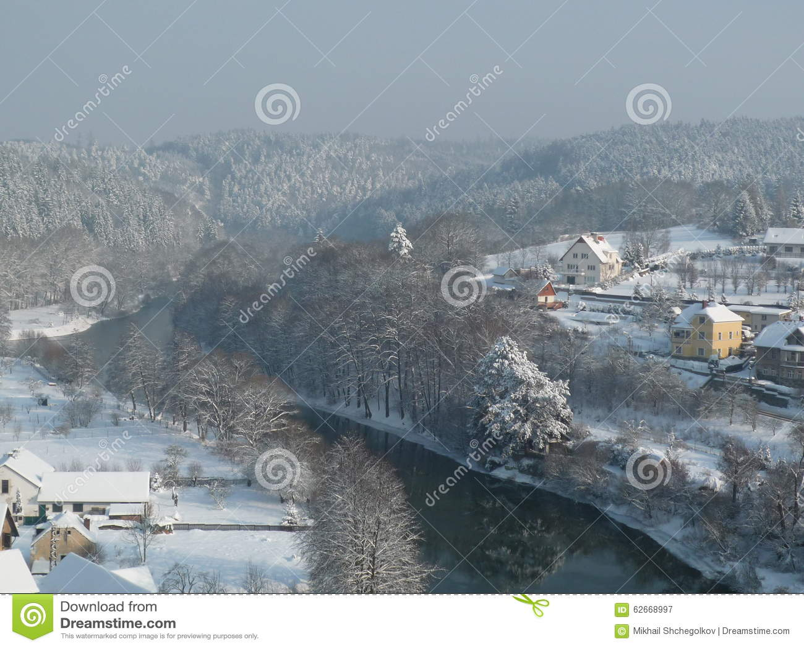 De winterrivier