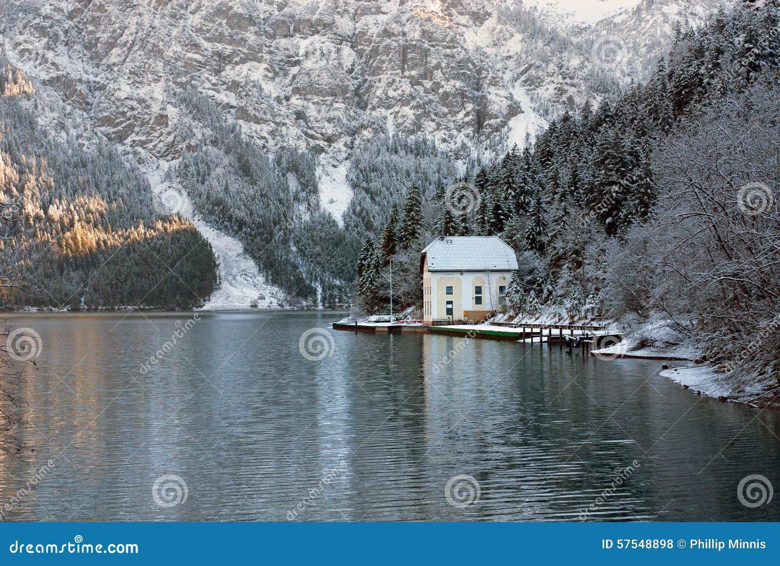 De winterscène, Oostenrijk