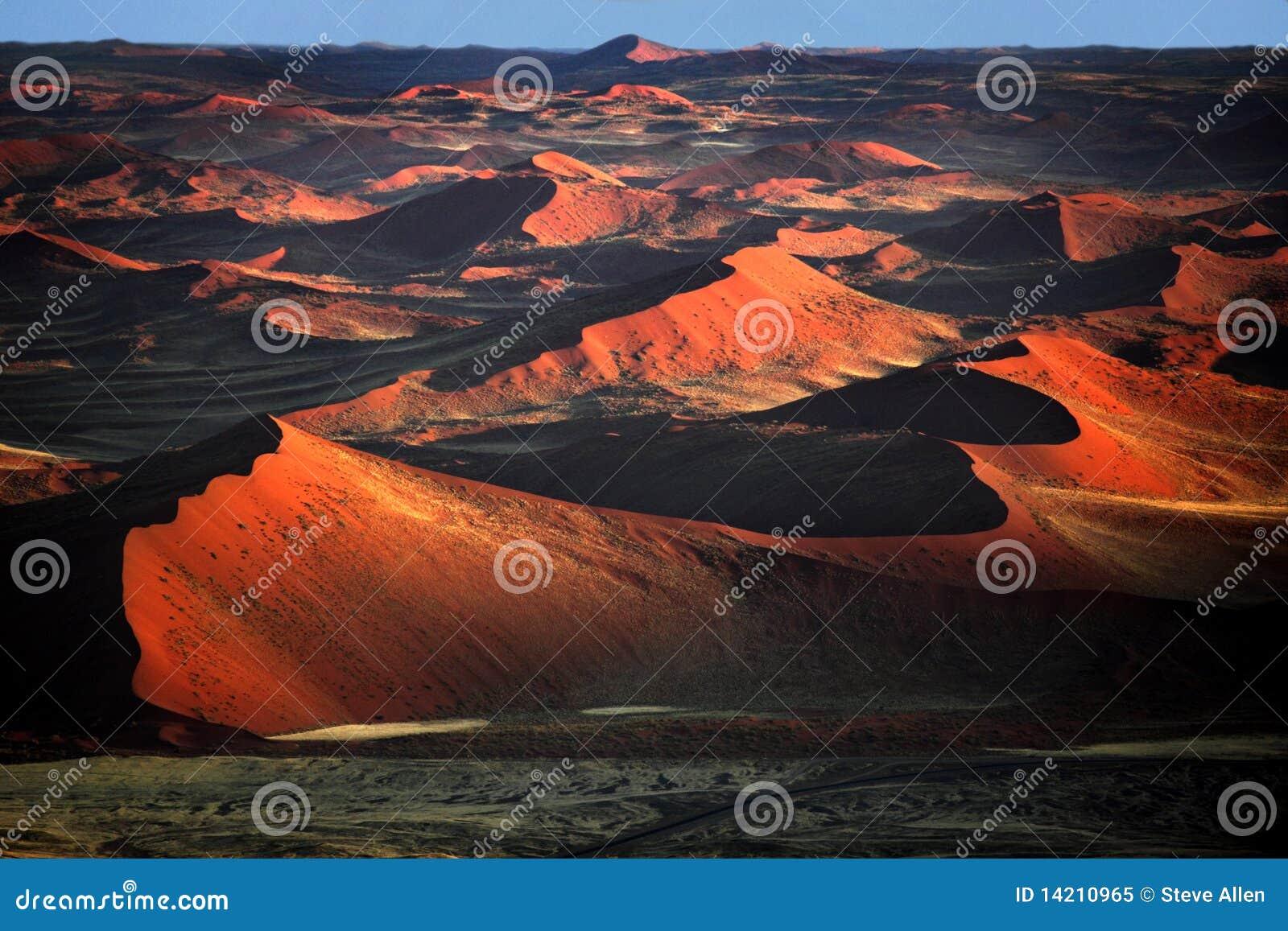 De woestijn namib-Naukluft