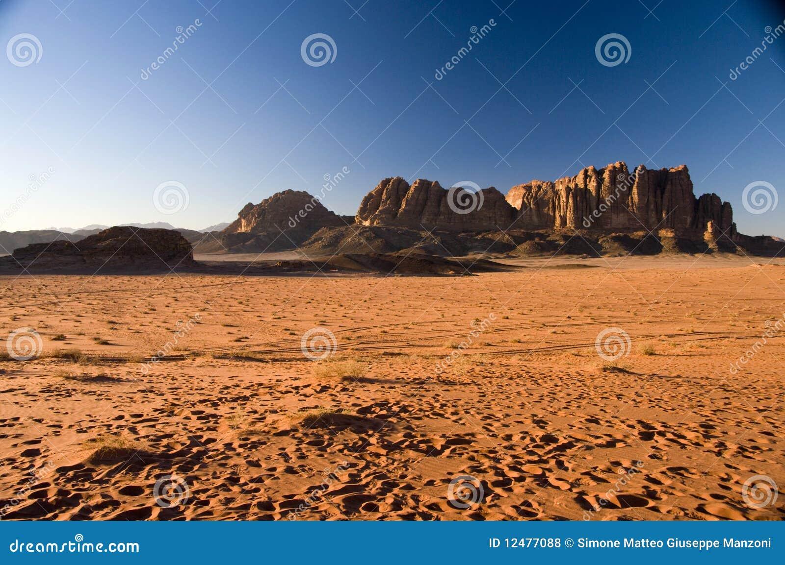 De woestijn van de Rum van de wadi