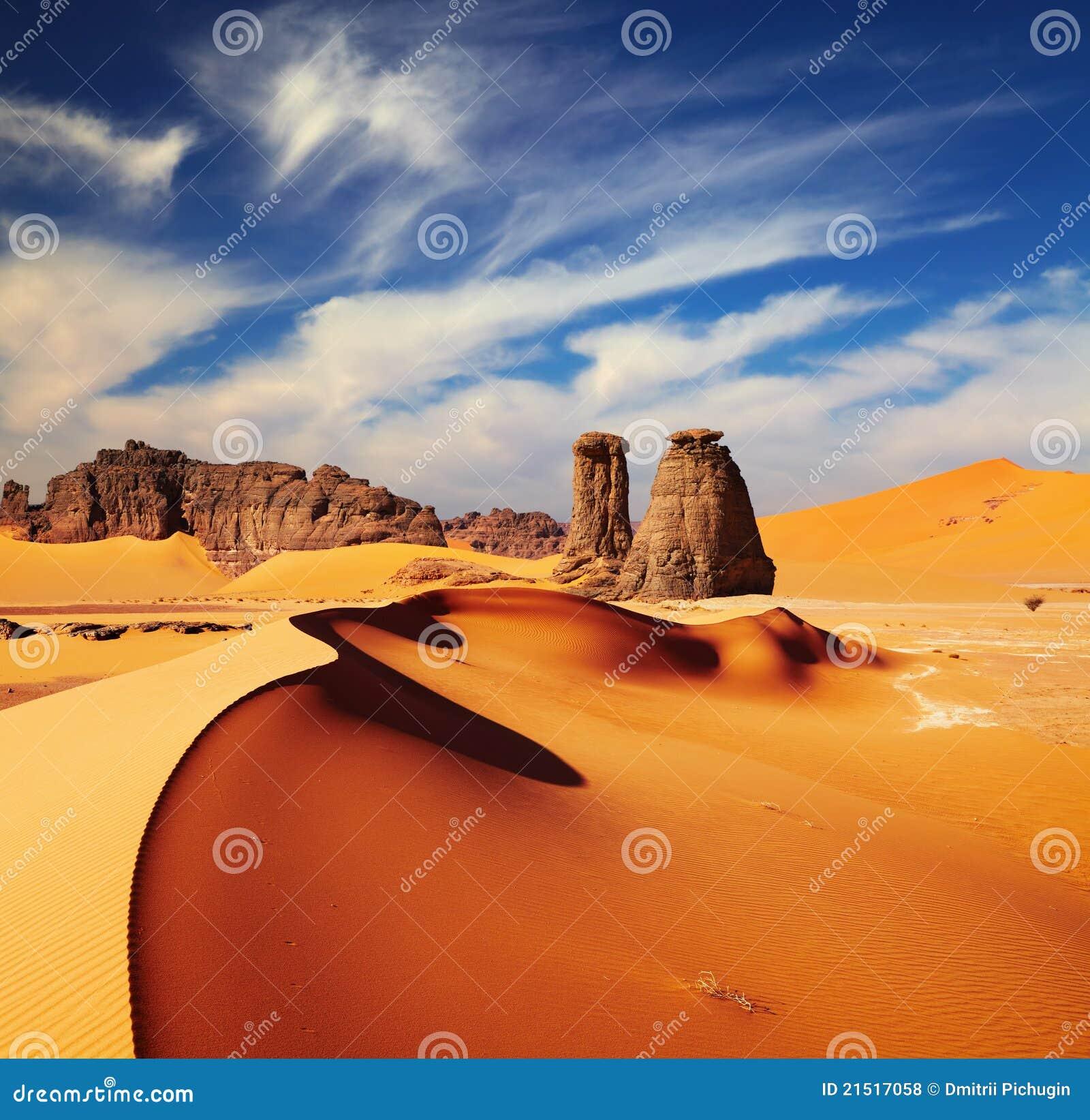 De Woestijn van de Sahara, Algerije