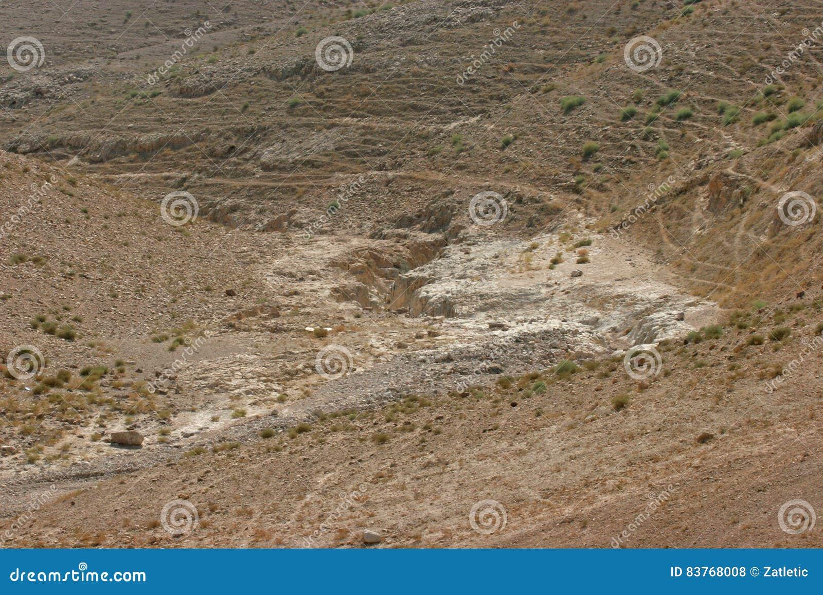 De woestijn van Judea, Israël