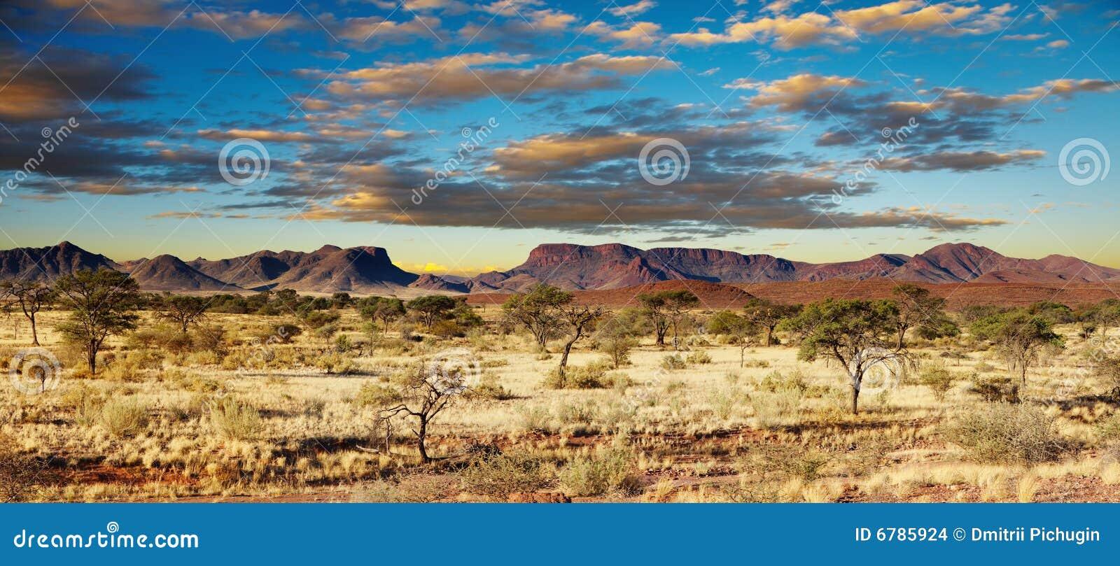 De Woestijn van Kalahari, Namibië
