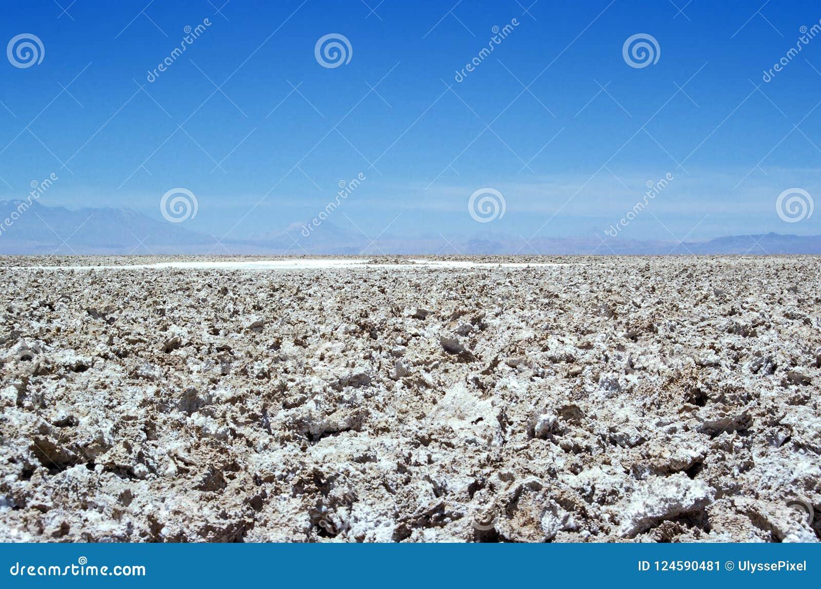 De woestijn van Salar de Atacama - Atacama-, Chili