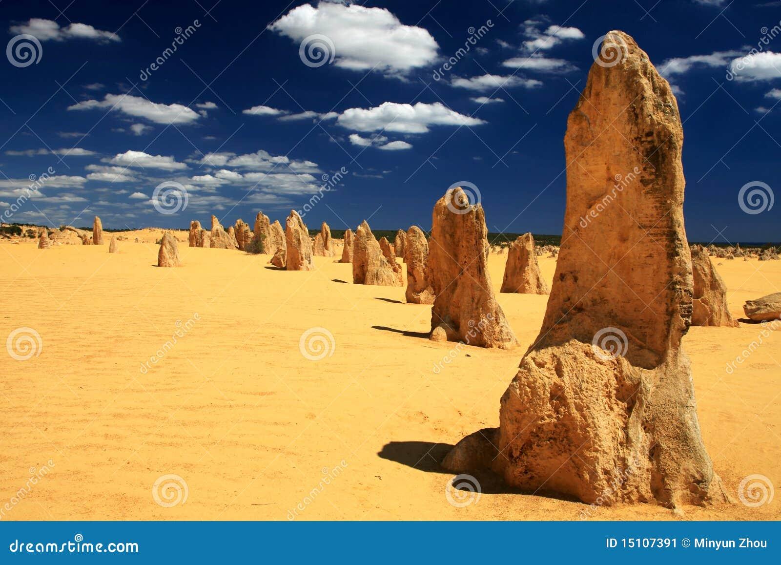 De woestijn van Toppen