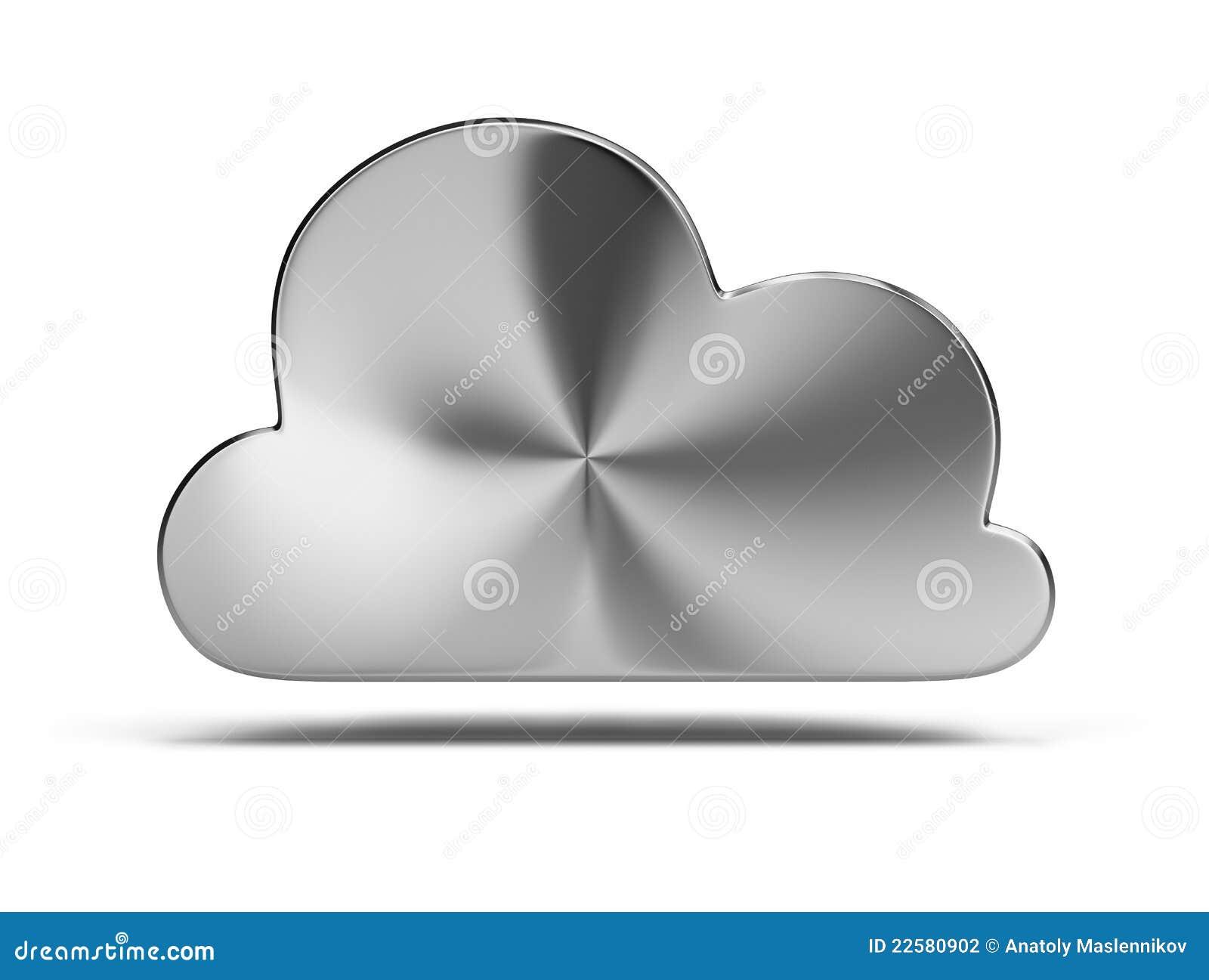 De wolk van het staal
