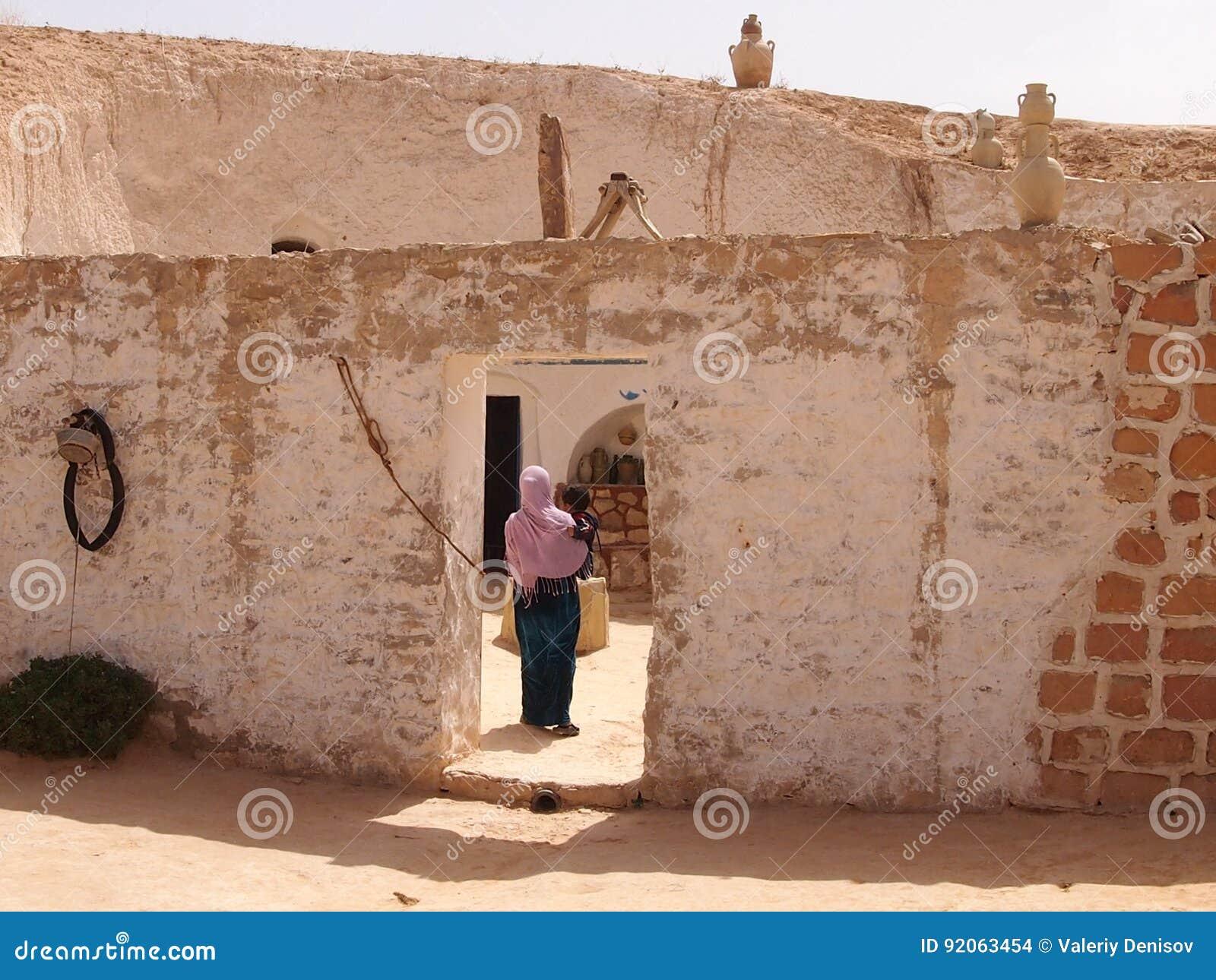 De woning van berbers in bergen