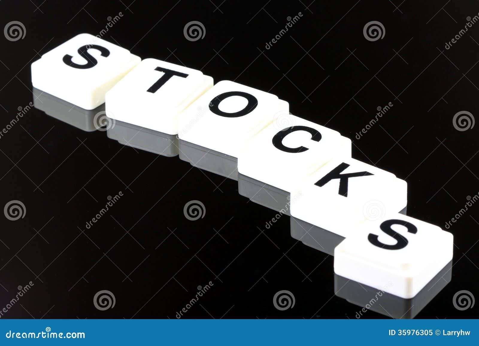 De Word Voorraden - een Termijn die voor Zaken in Financiën en Effectenbeurs Handel wordt gebruikt
