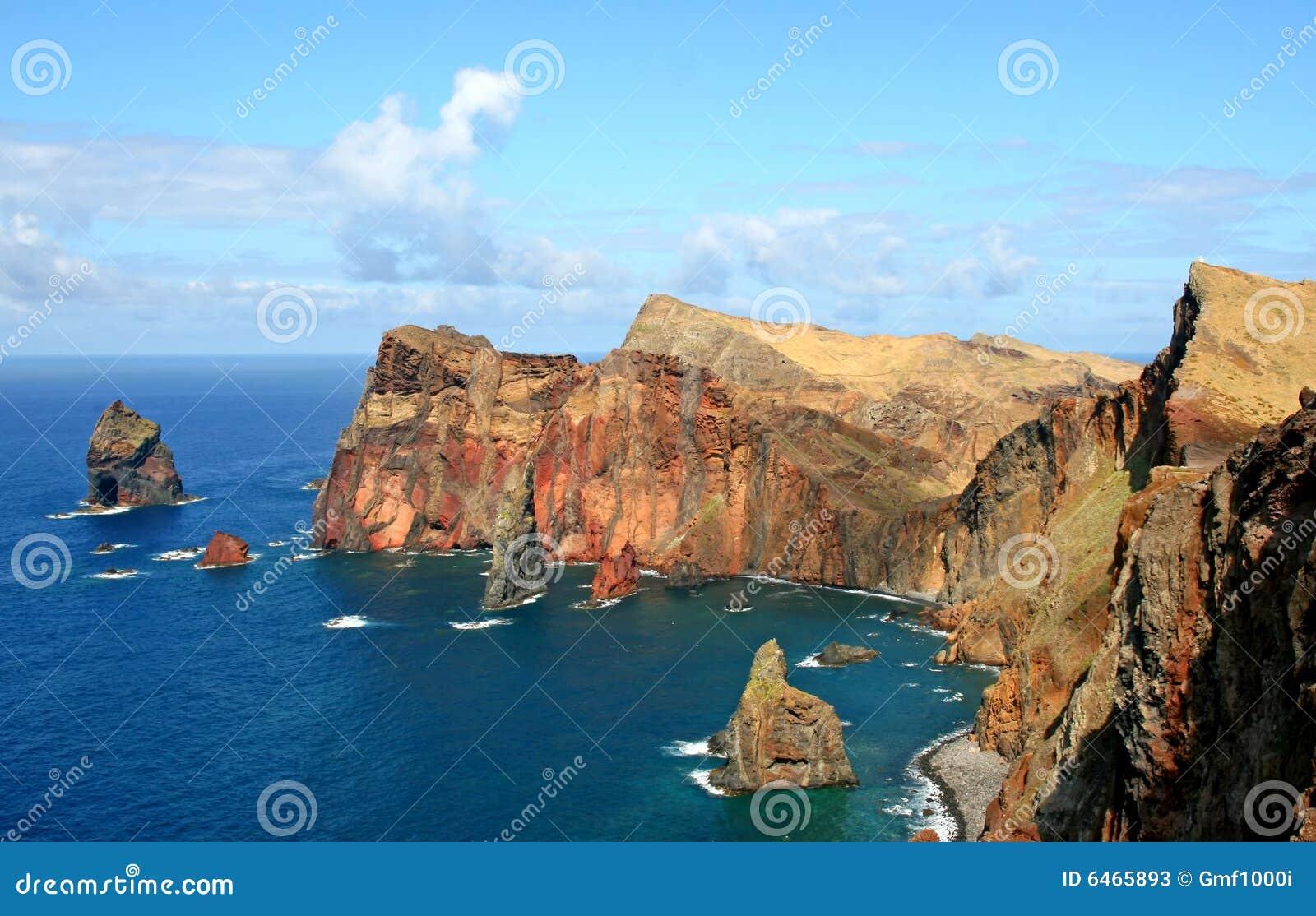 De Wyspa louren o Madeira ponta sao