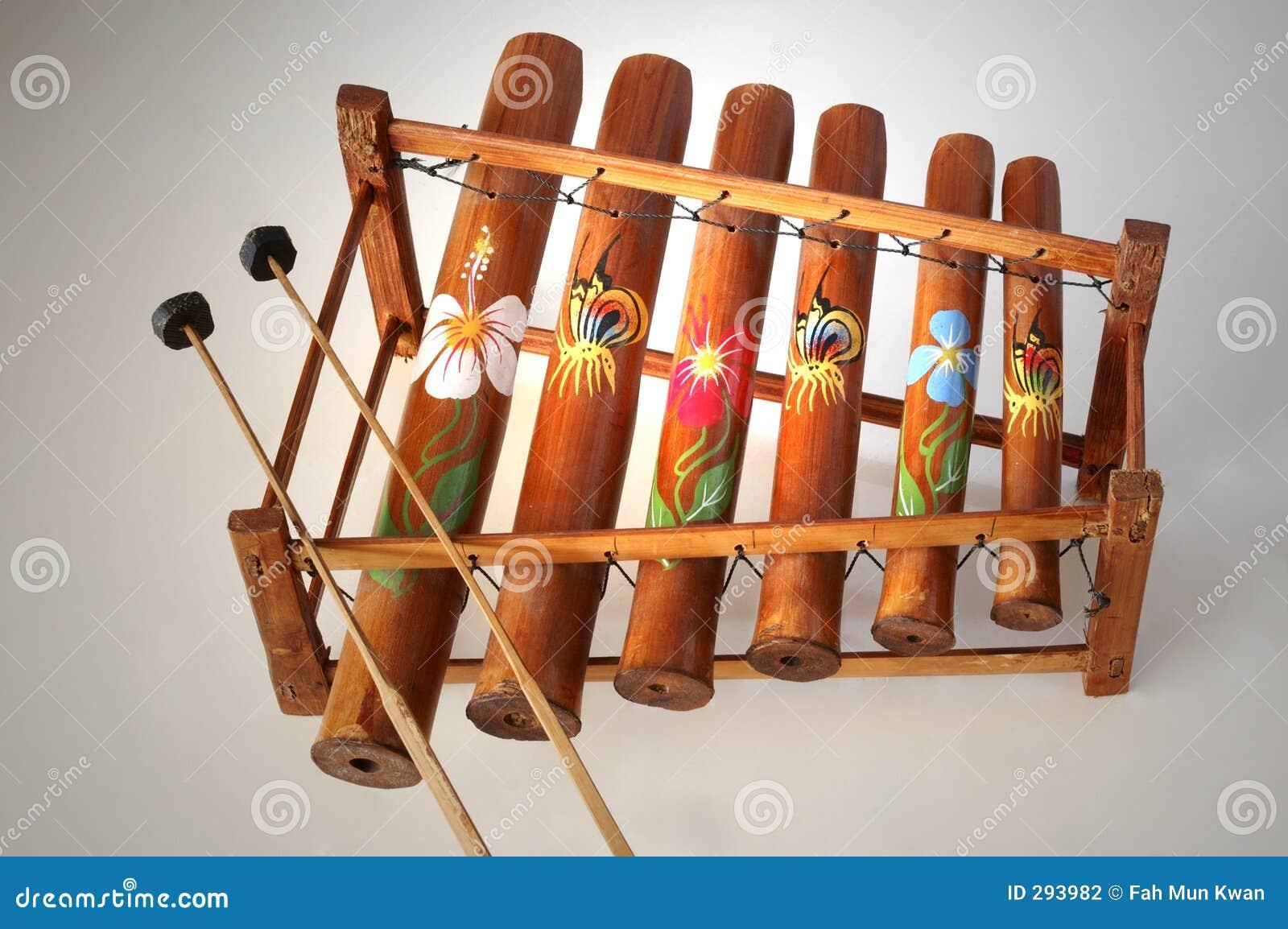 De Xylofoon van het bamboe