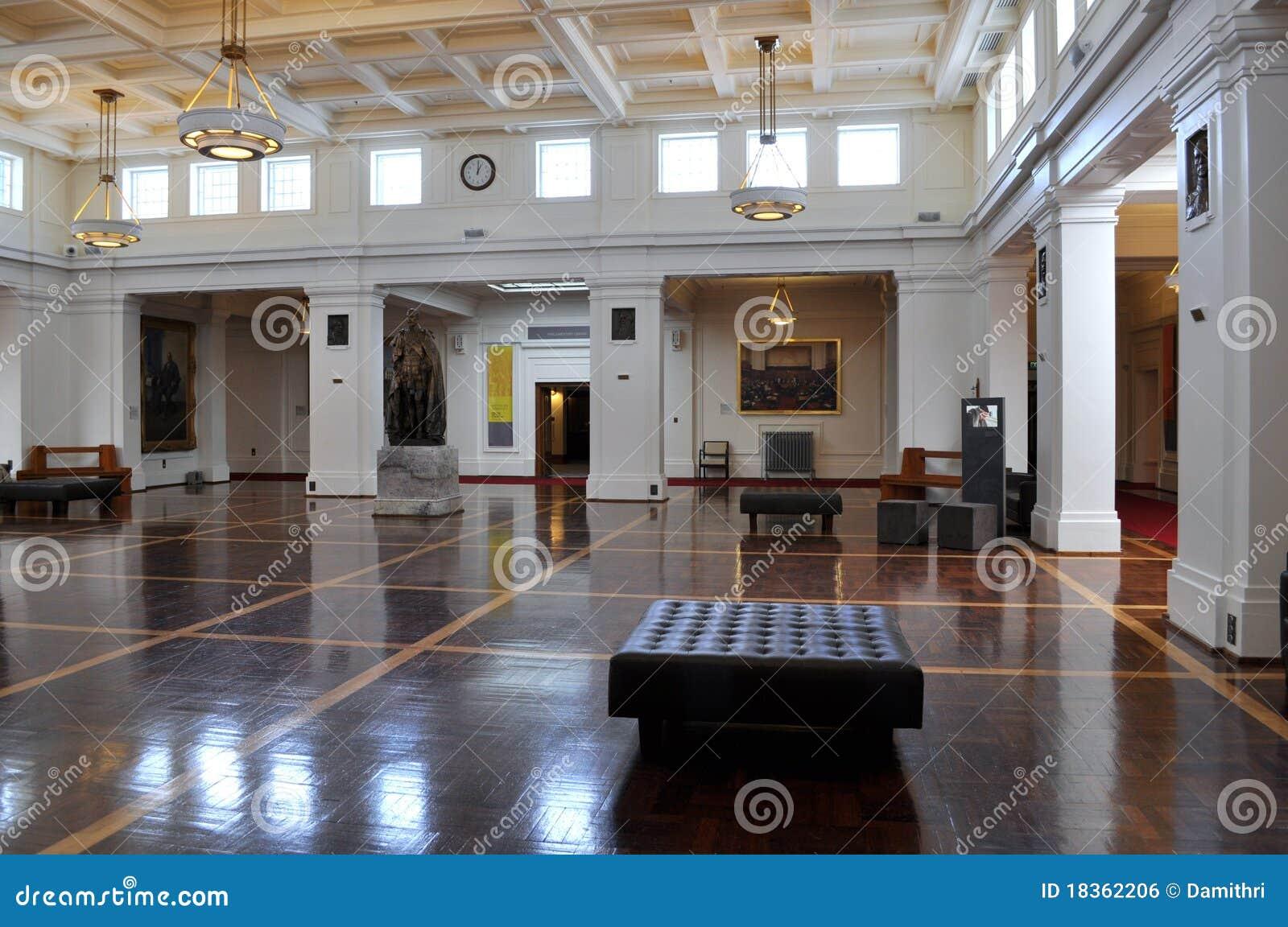 De zaal van de koning het oude huis van het parlement canberra redactionele foto afbeelding - Versiering van de zaal van het tienermeisje van ...