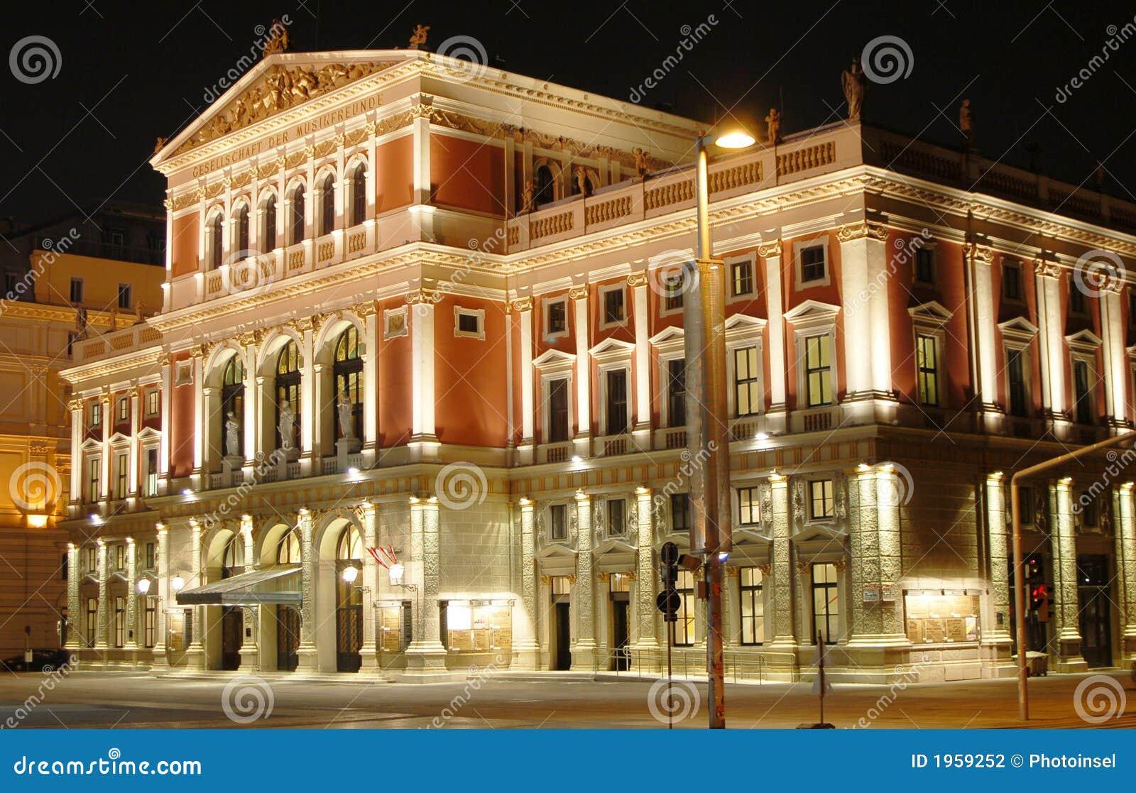 De Zaal van de Muziek van Wenen
