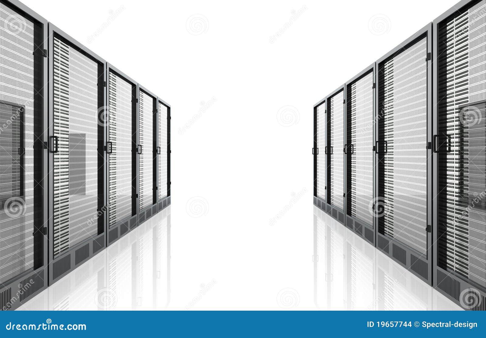 De Zaal van de server