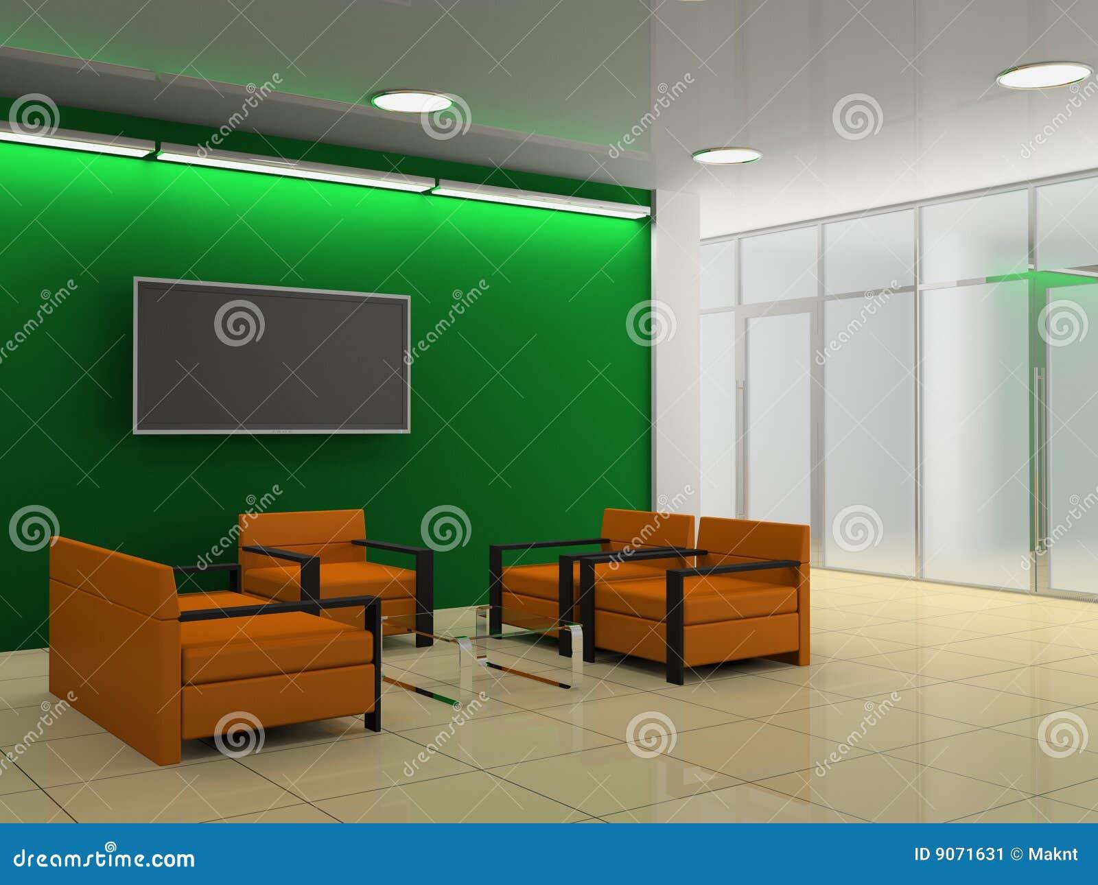 De zaal van het bureau stock illustratie afbeelding bestaande uit horizontaal 9071631 - Versiering van de zaal van het tienermeisje van ...