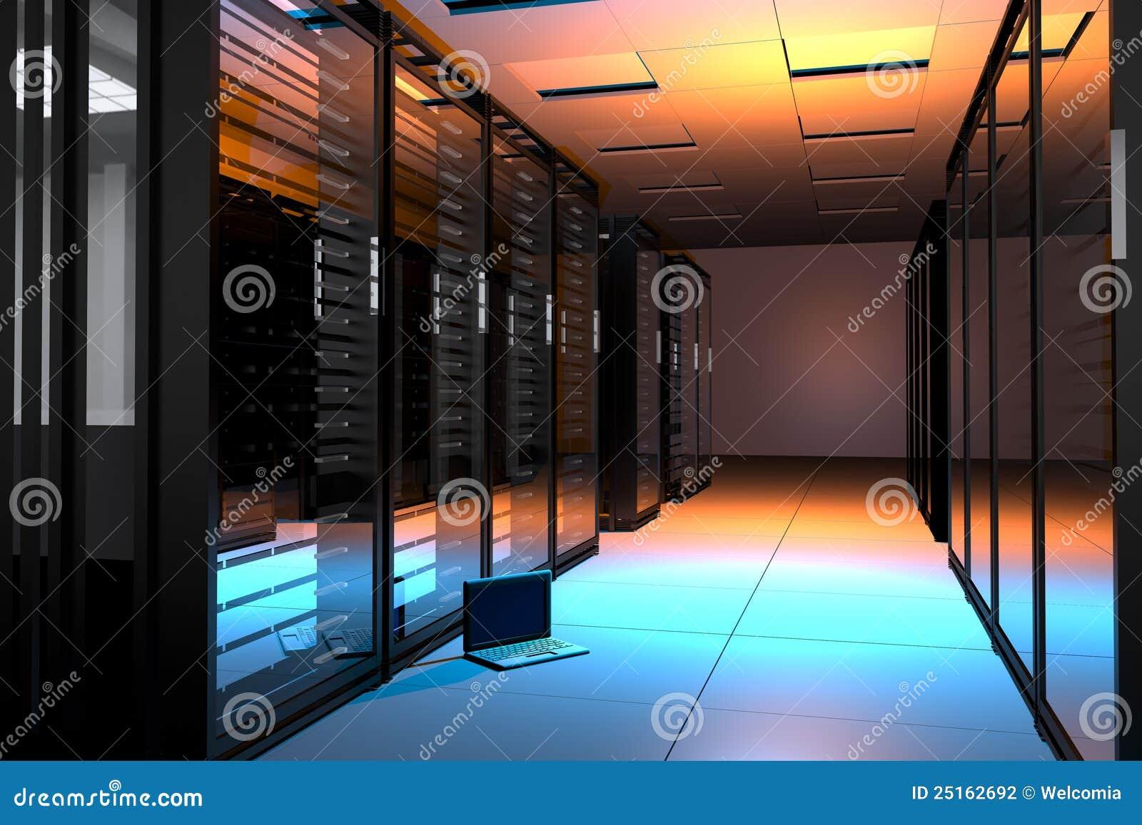 De Zaal van servers