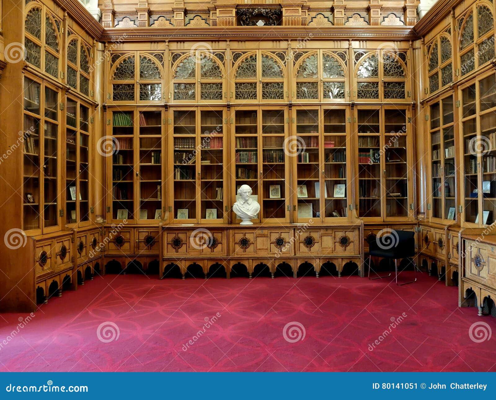 De Zaal van Shakespeare bij de Bibliotheek van Birmingham het UK