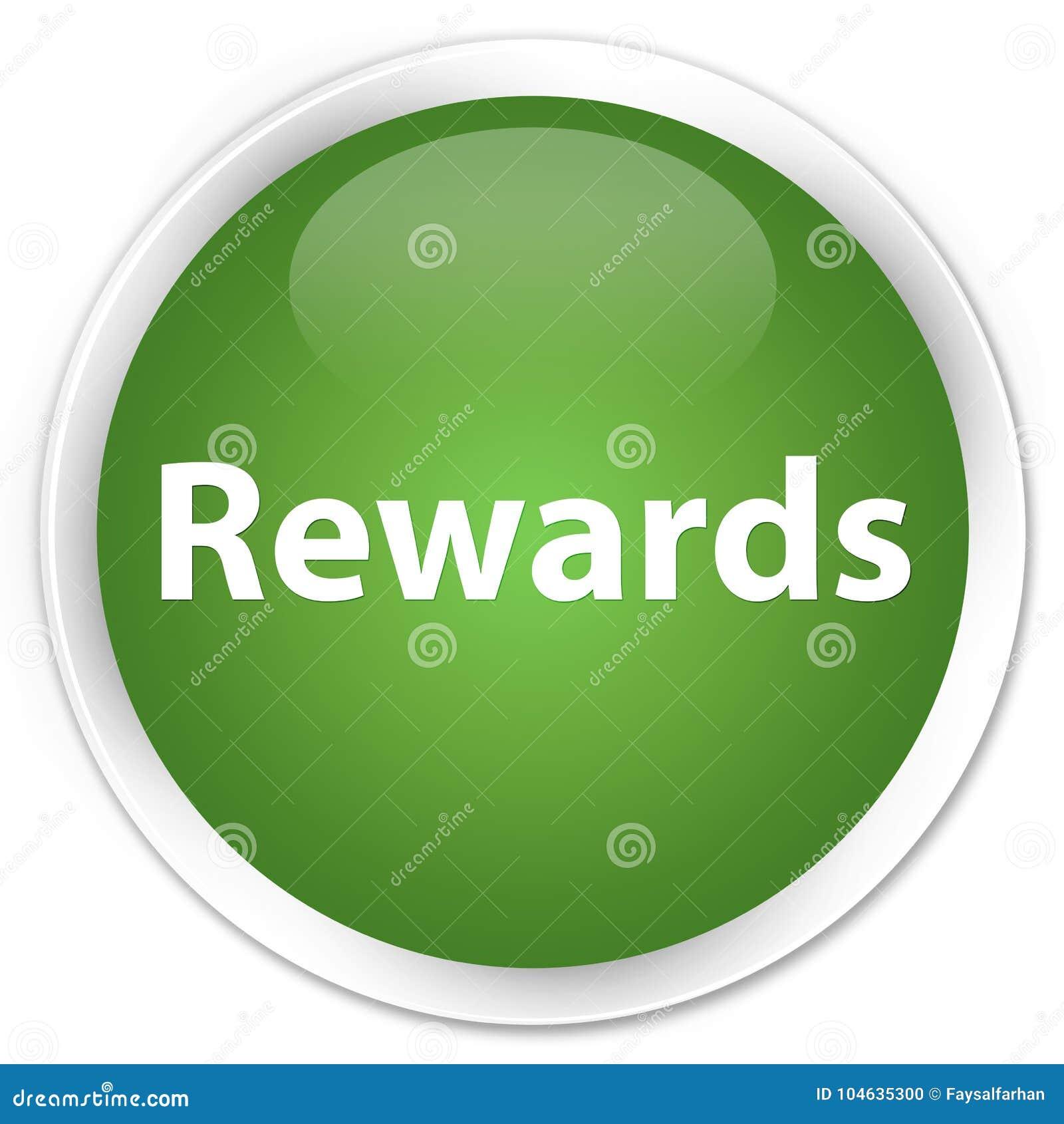 Download De Zachte Groene Ronde Knoop Van De Beloningenpremie Stock Illustratie - Illustratie bestaande uit premie, toekenning: 104635300
