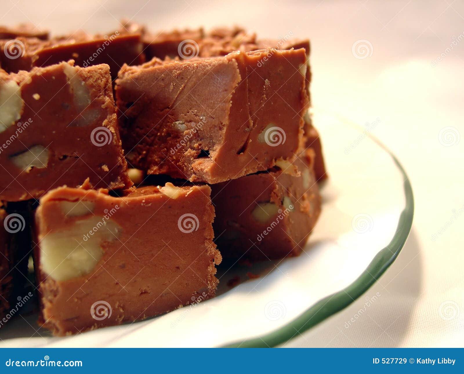 De Zachte toffee van de chocolade