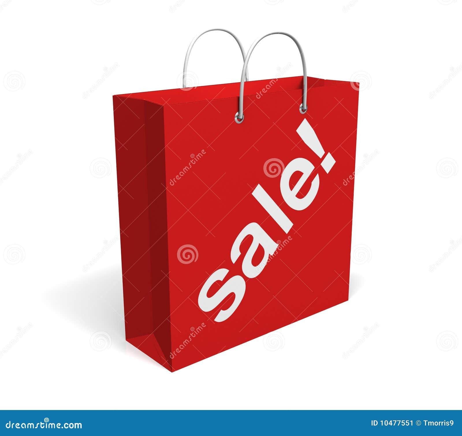 De zak van de verkoop stock afbeelding afbeelding 10477551 - Zinkt de verkoop ...