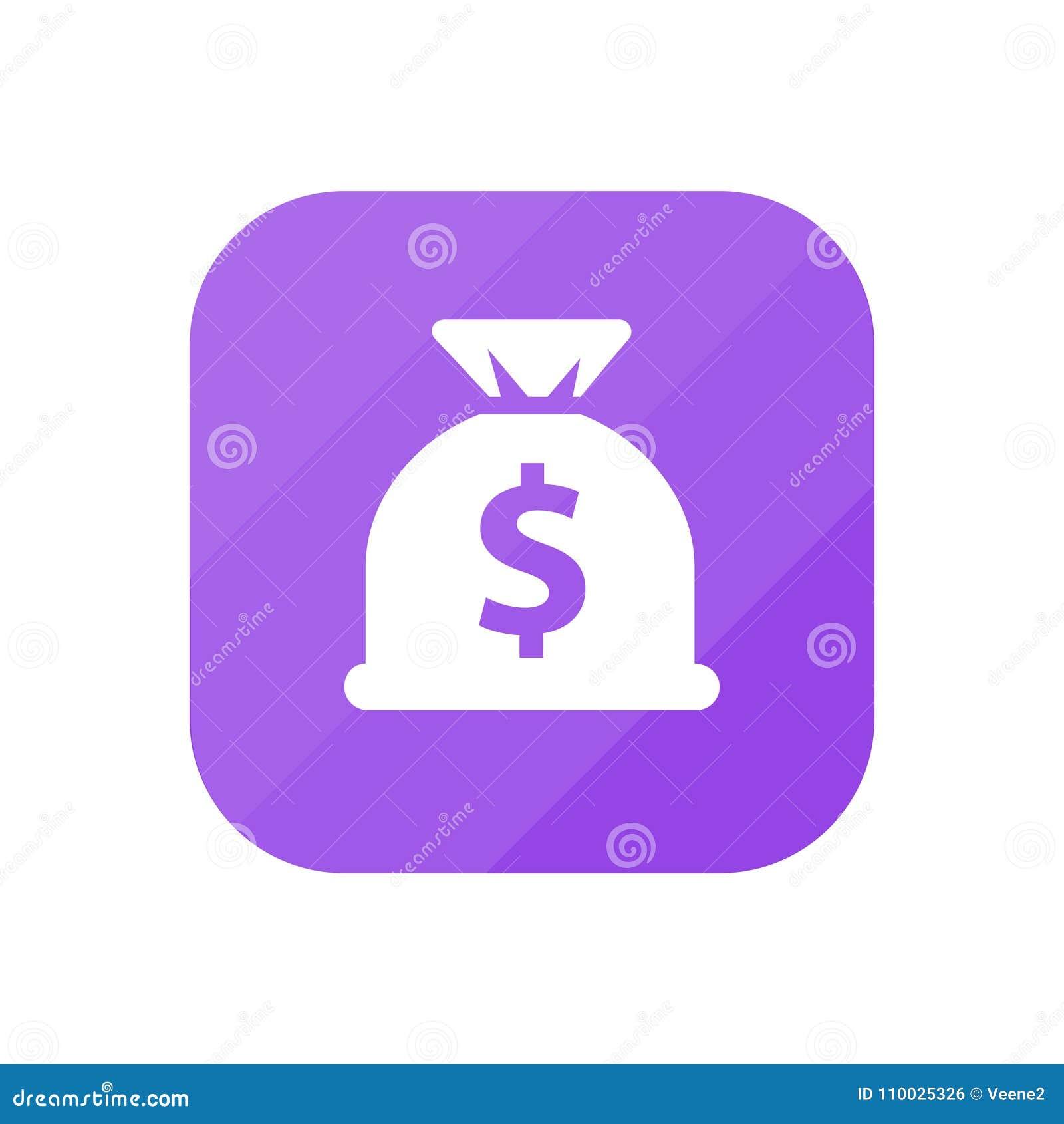 De Zak van het dollargeld - App Pictogram