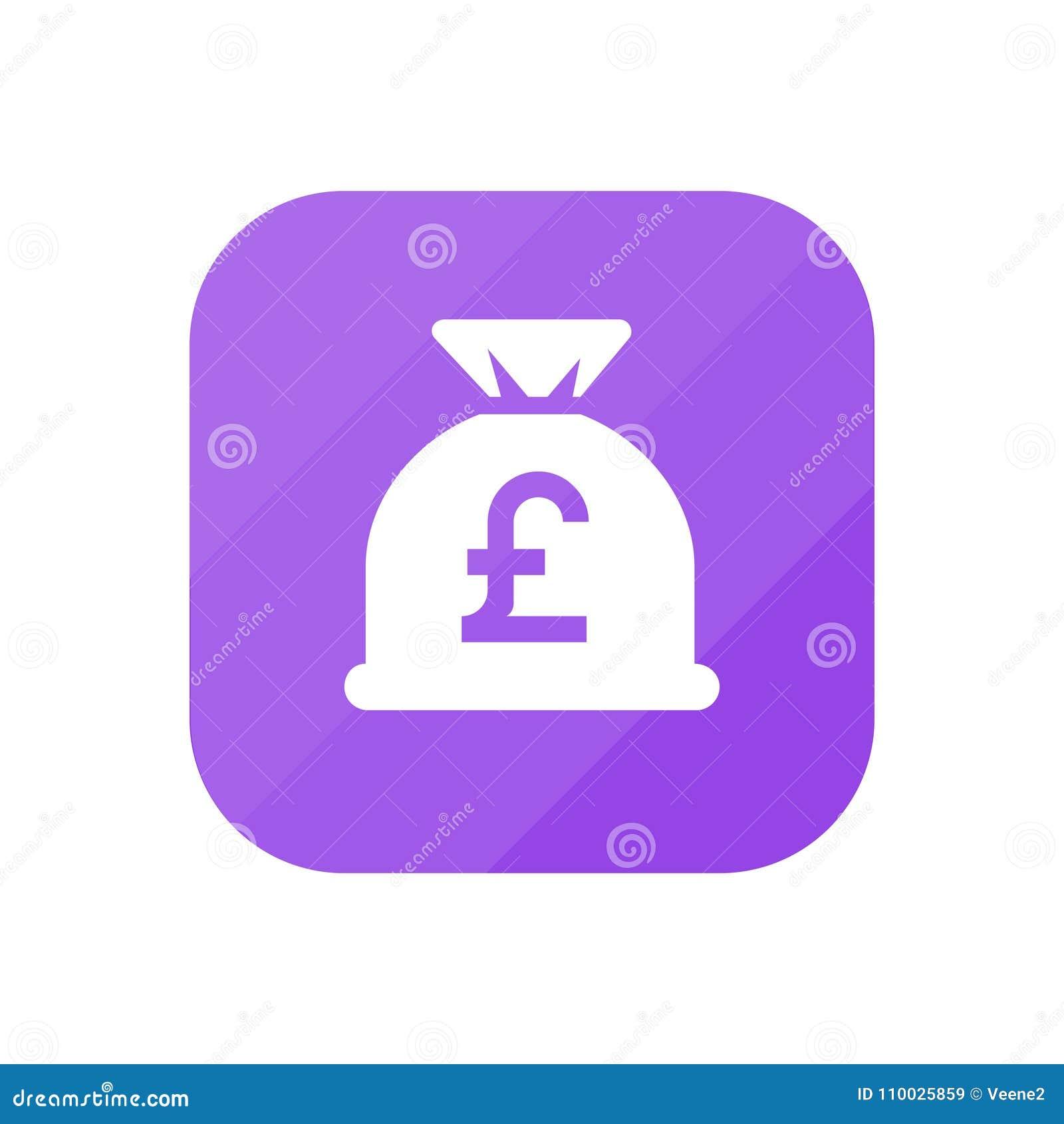 De Zak van het pondgeld - App Pictogram