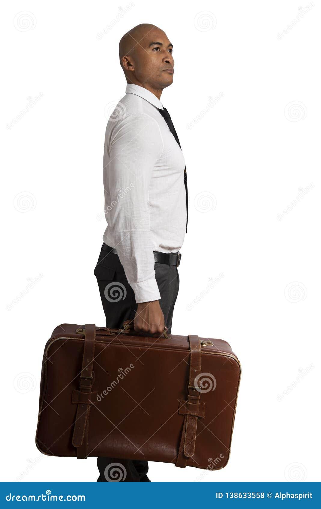 De zakenman moet tussen verschillende bestemmingen kiezen concept moeilijke carrière