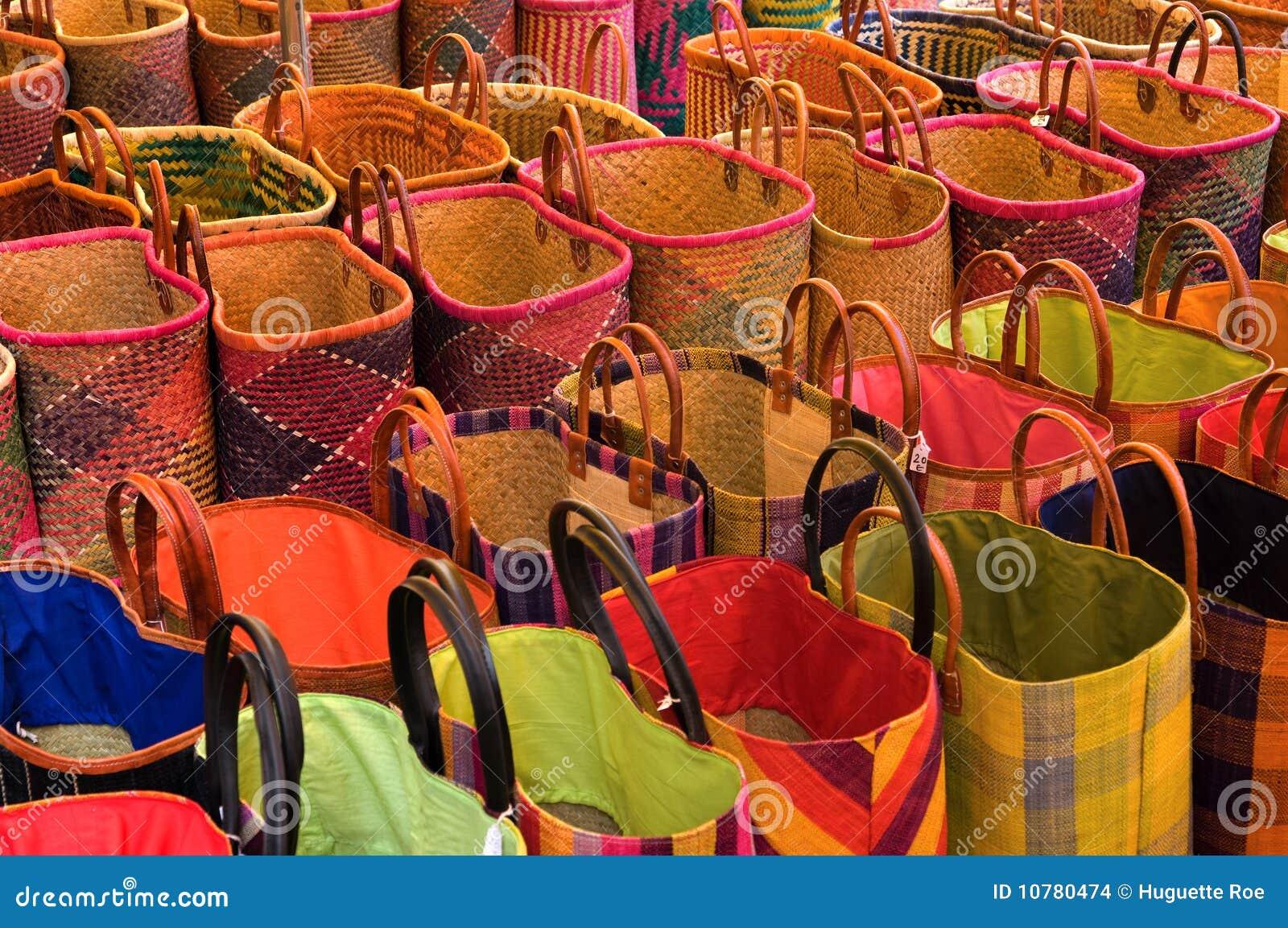 De zakken van de markt
