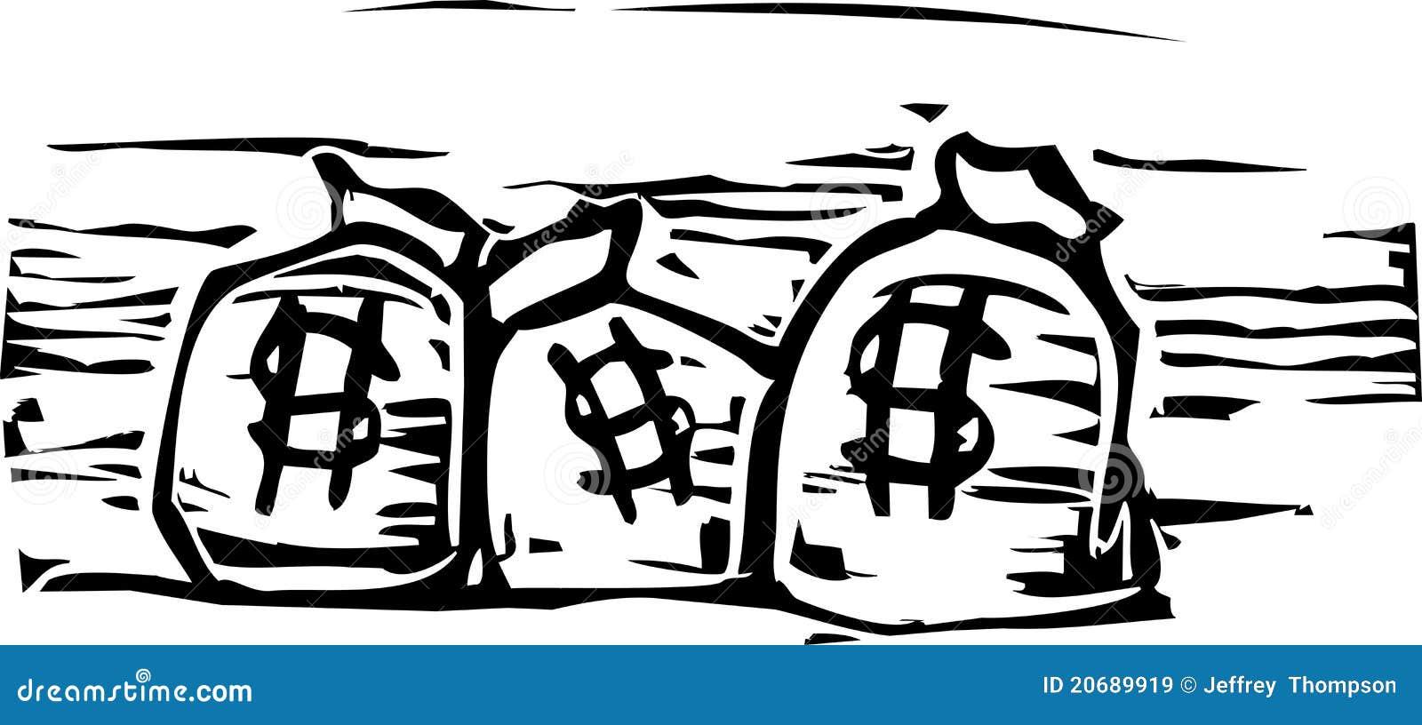 De Zakken van het geld