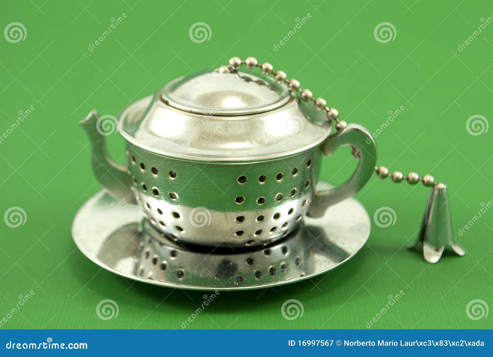 De zeefroestvrij staal van de thee