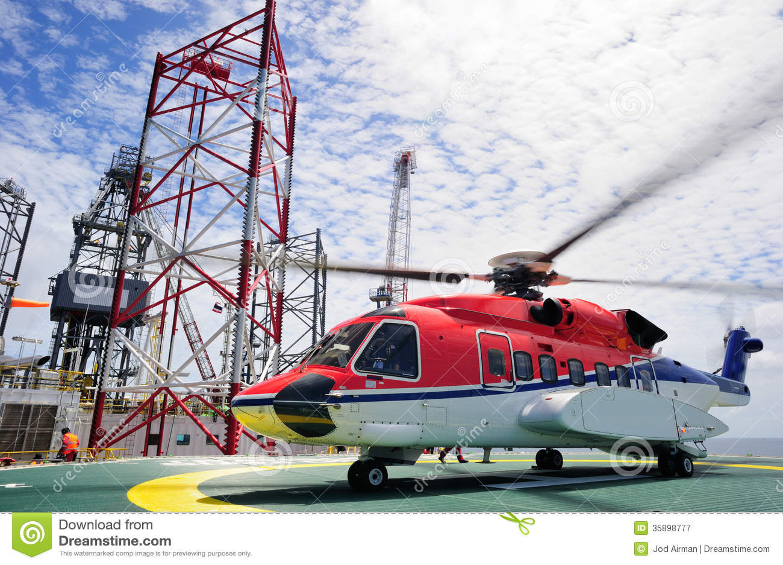De zeehelikopter