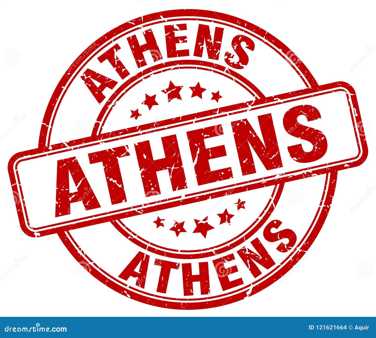 De zegel van Athene