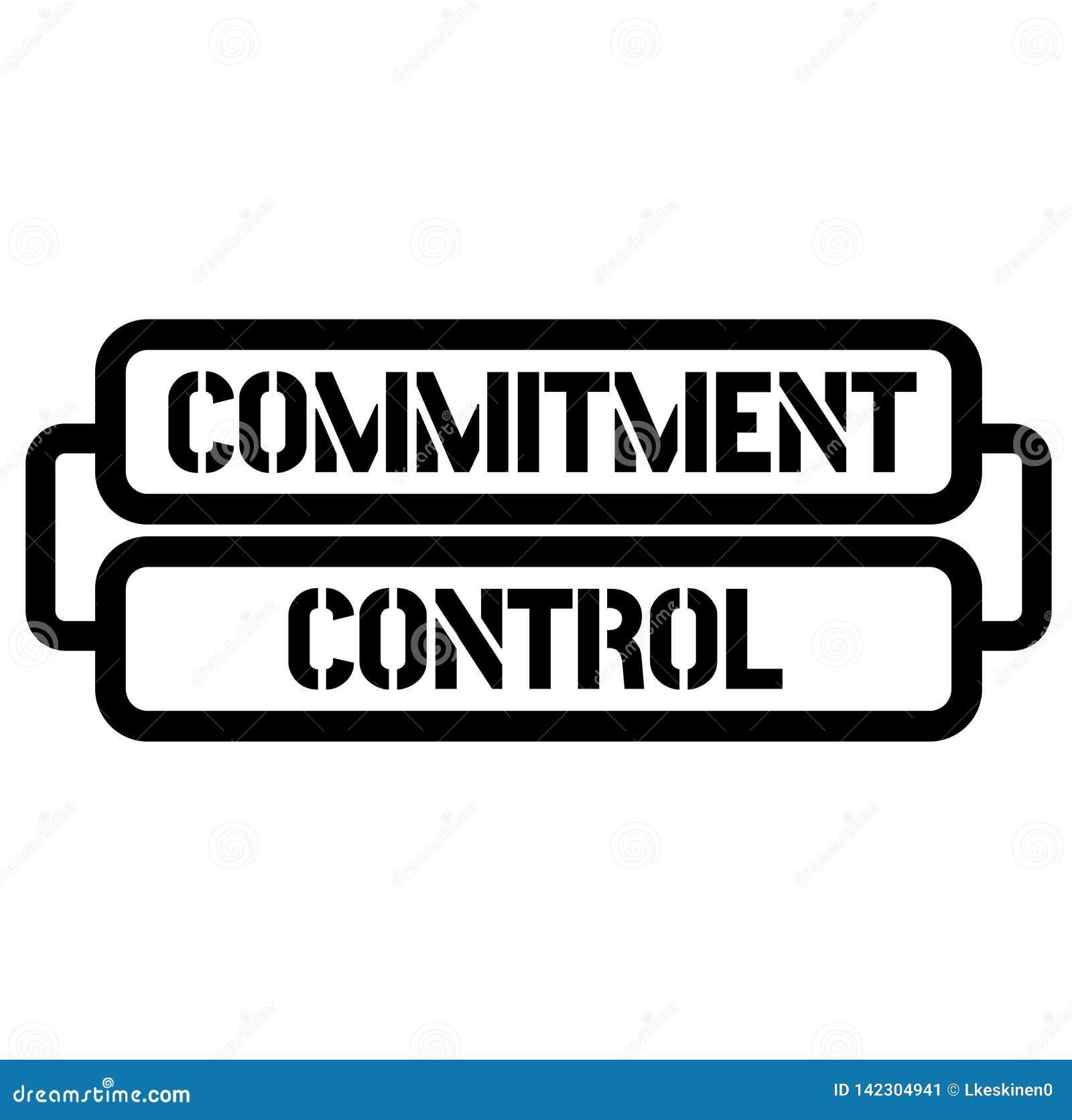 De zegel van de verplichtingscontrole