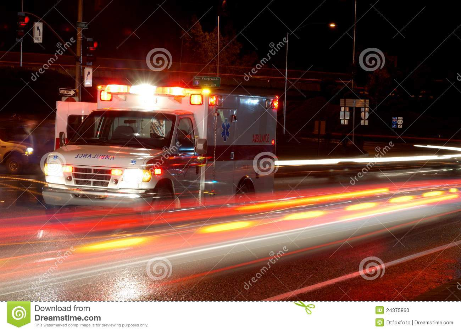 De Ziekenwagen van de nacht