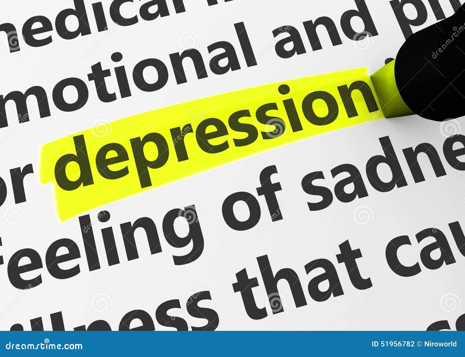 De Ziekteconcept van de depressieziekte