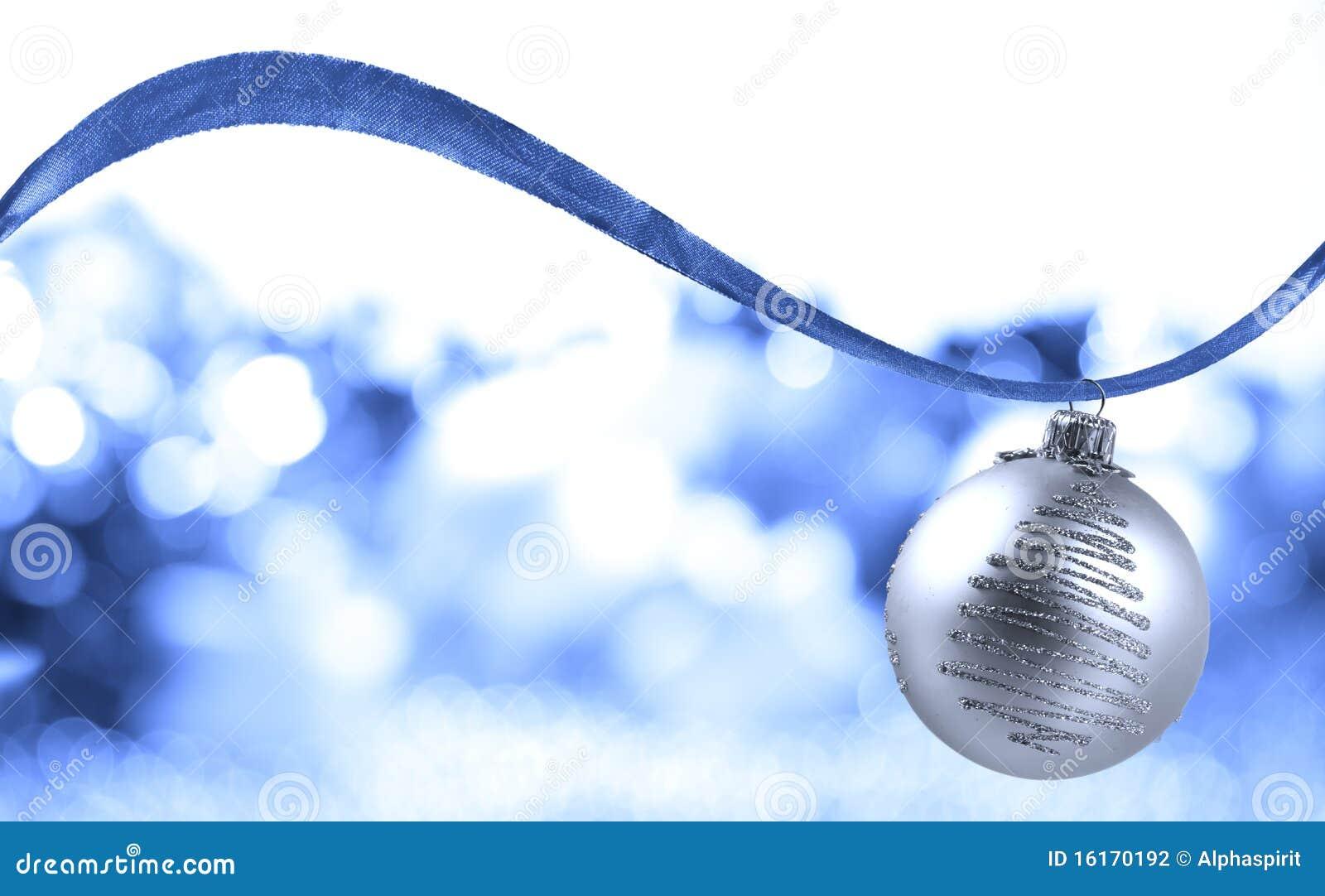 De zilveren bal van Kerstmis