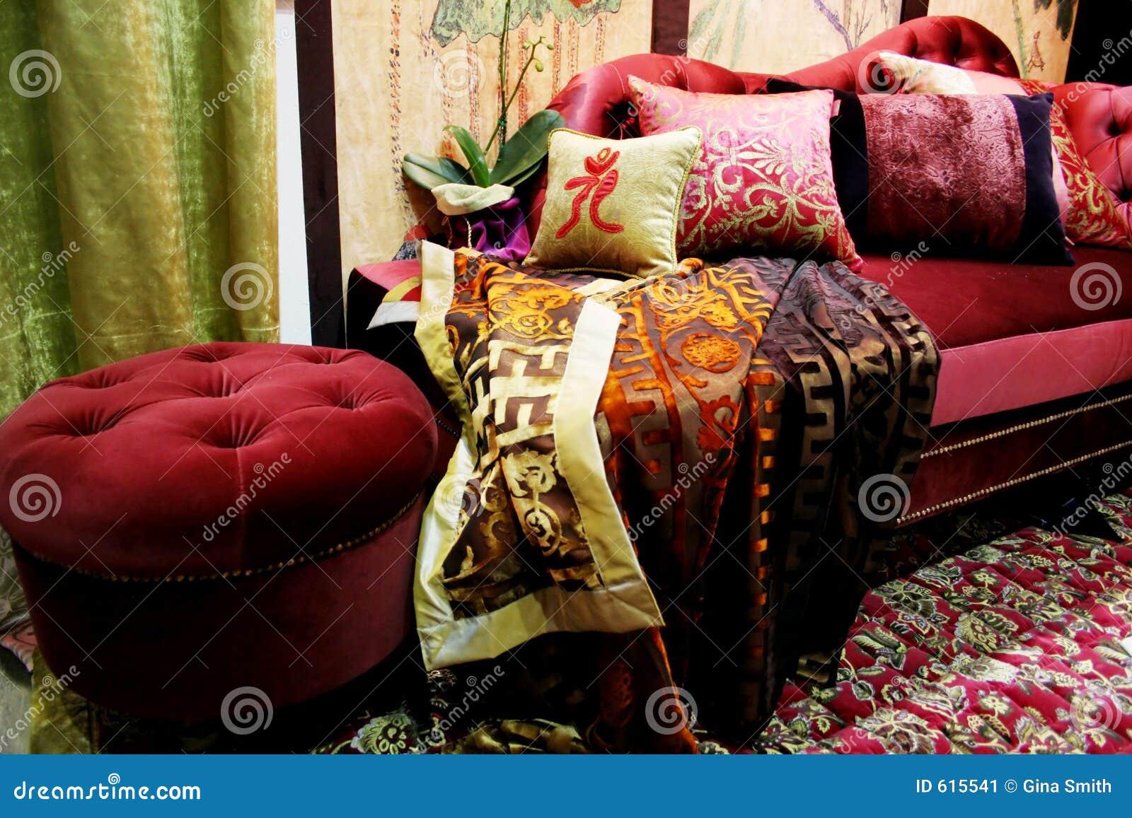 De zitkamer van het fluweel