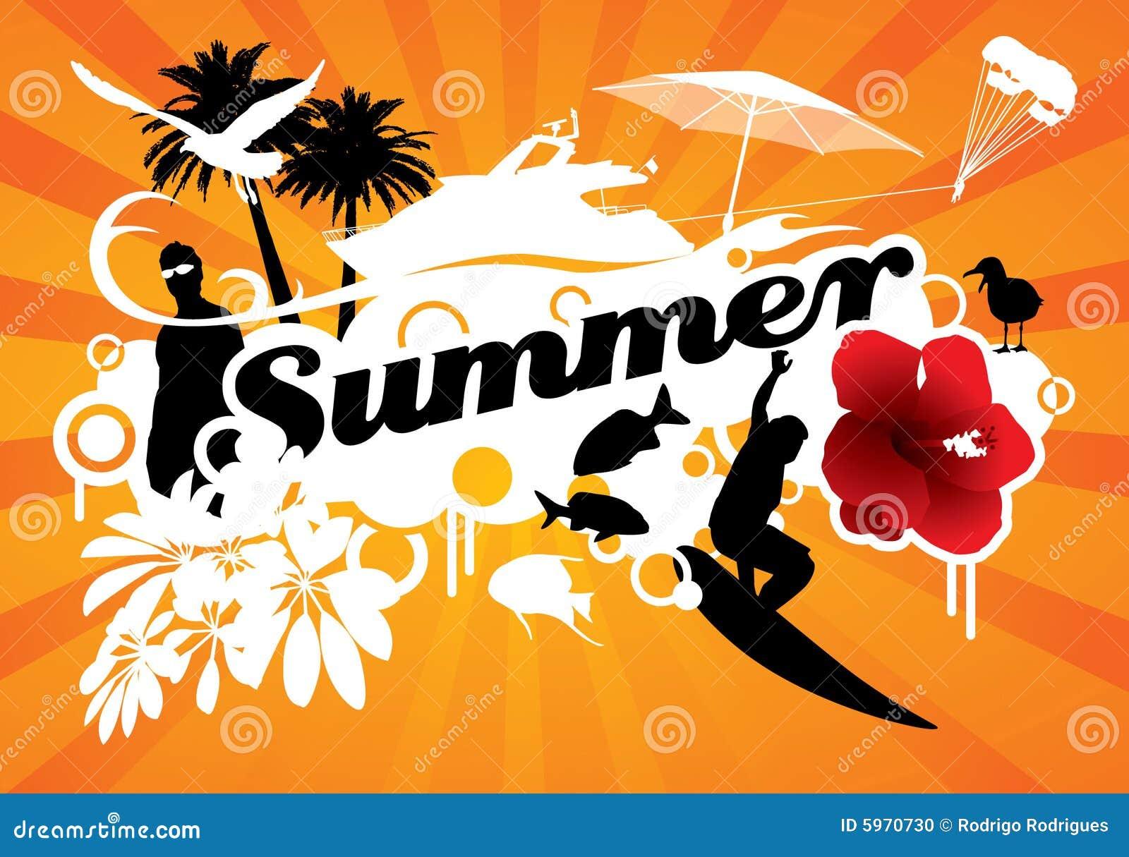 De zomer