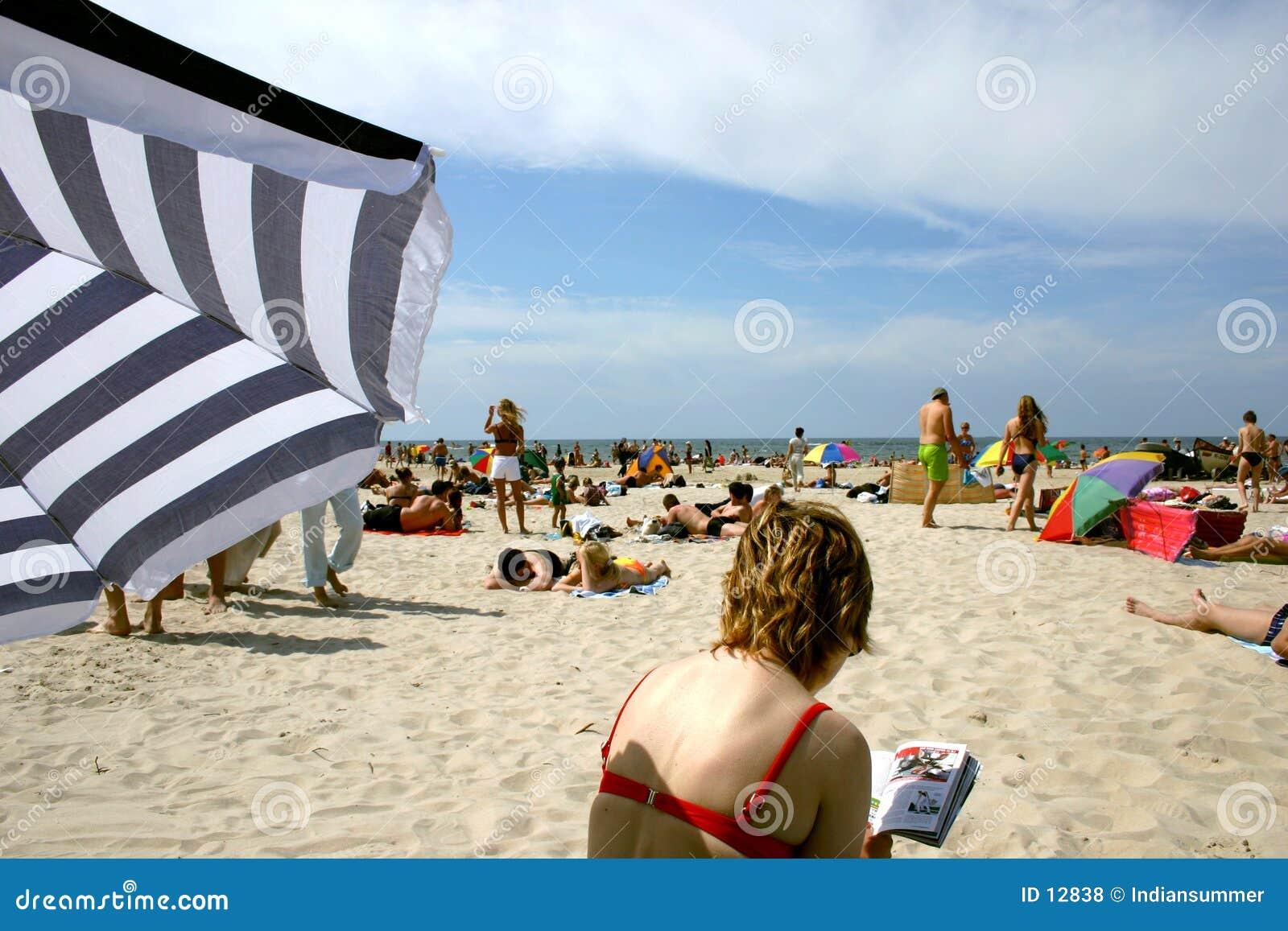 De zomer op strand III