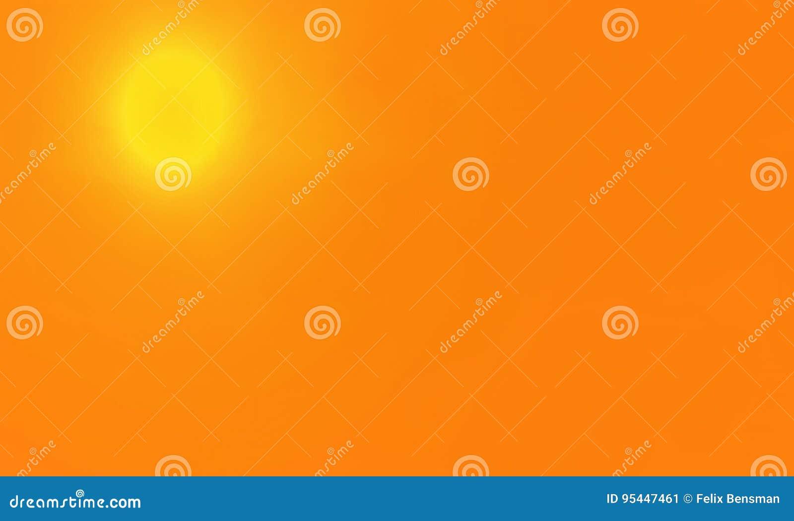 De zomerachtergrond met een prachtige hete zon