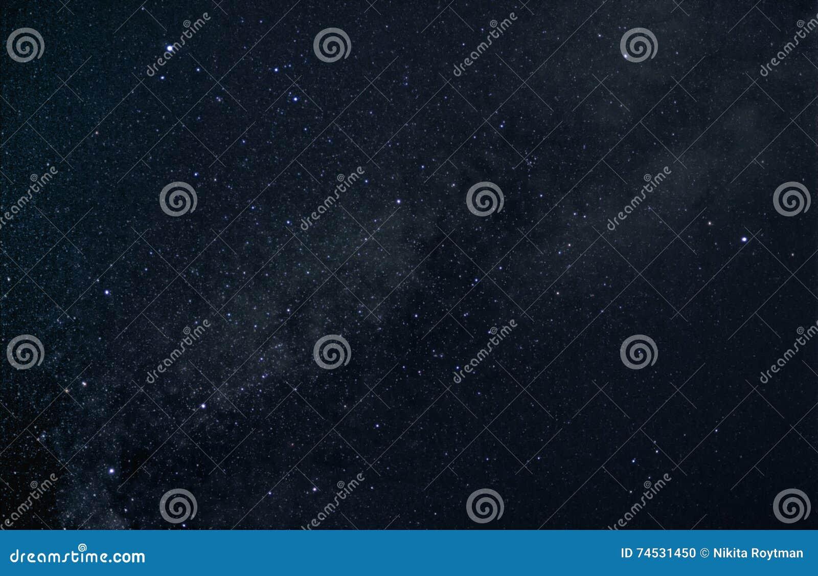 De zomerdriehoek van sterren