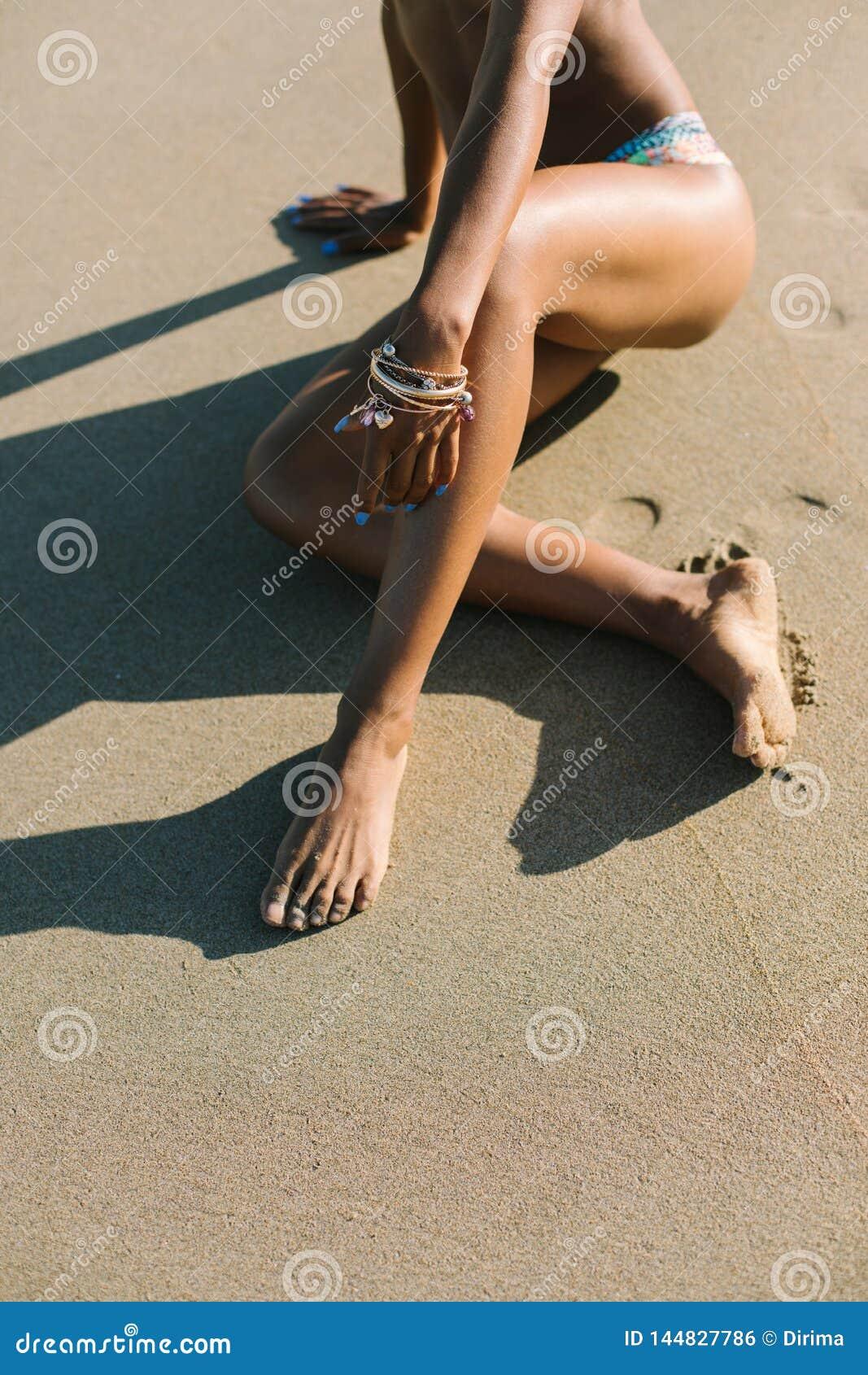 De zomervakantie bij het strandconcept