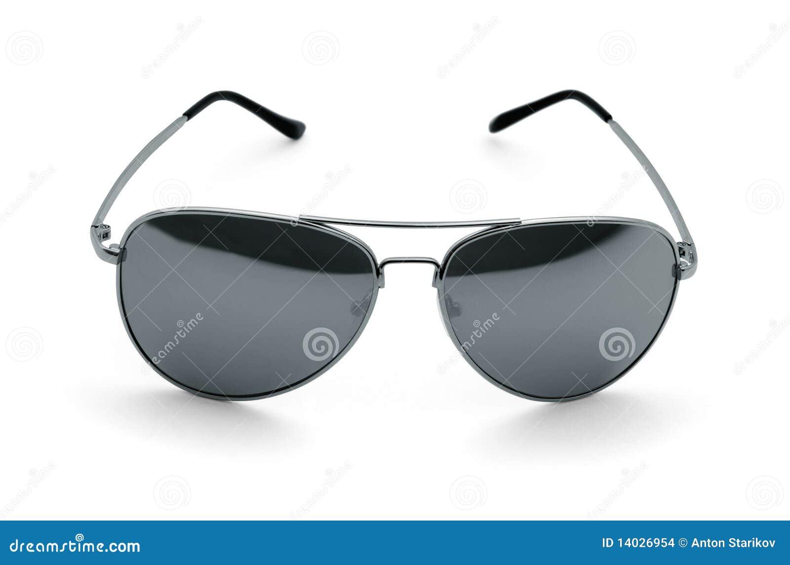De zonnebril van de vliegenier