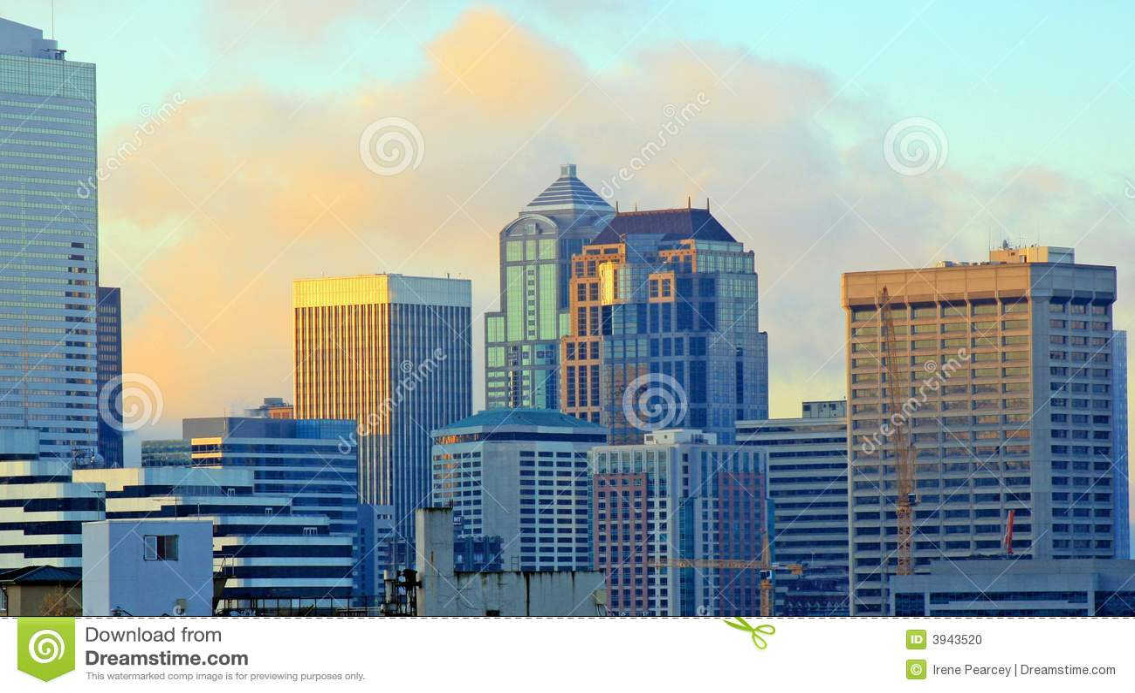 De Zonsopgang van Seattle