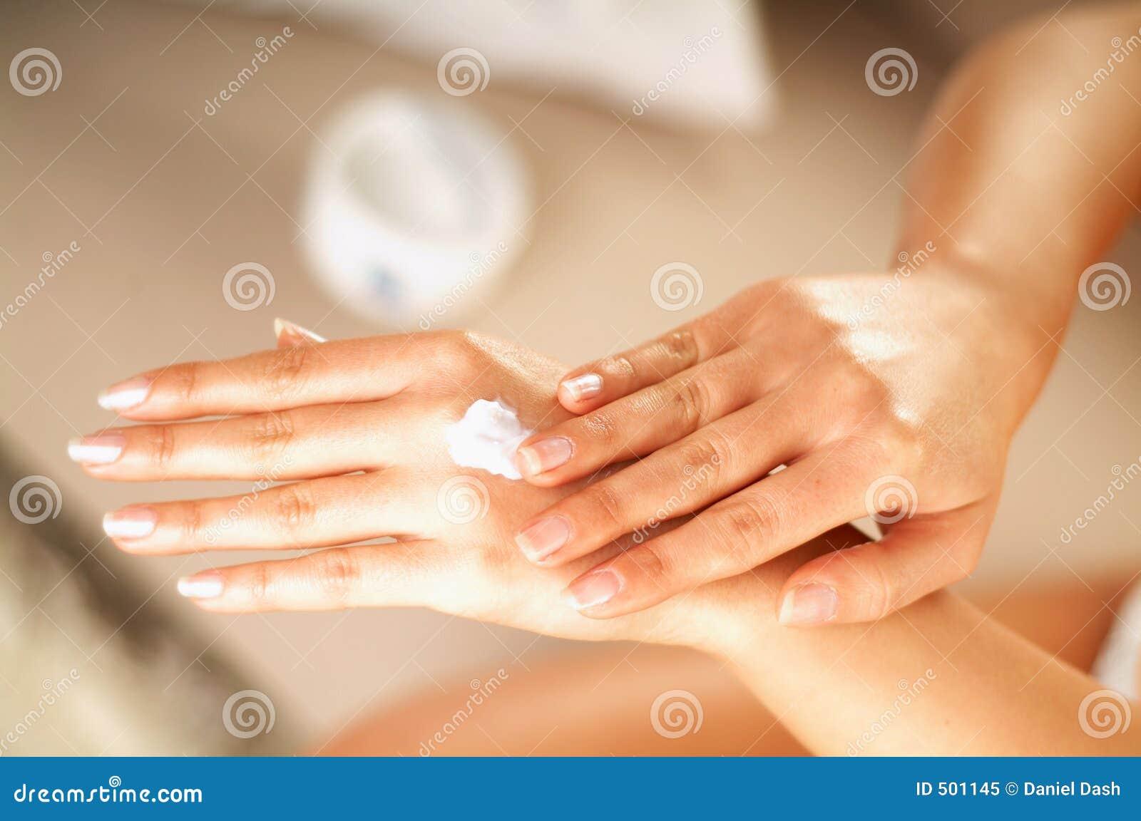 De zorg van de huid