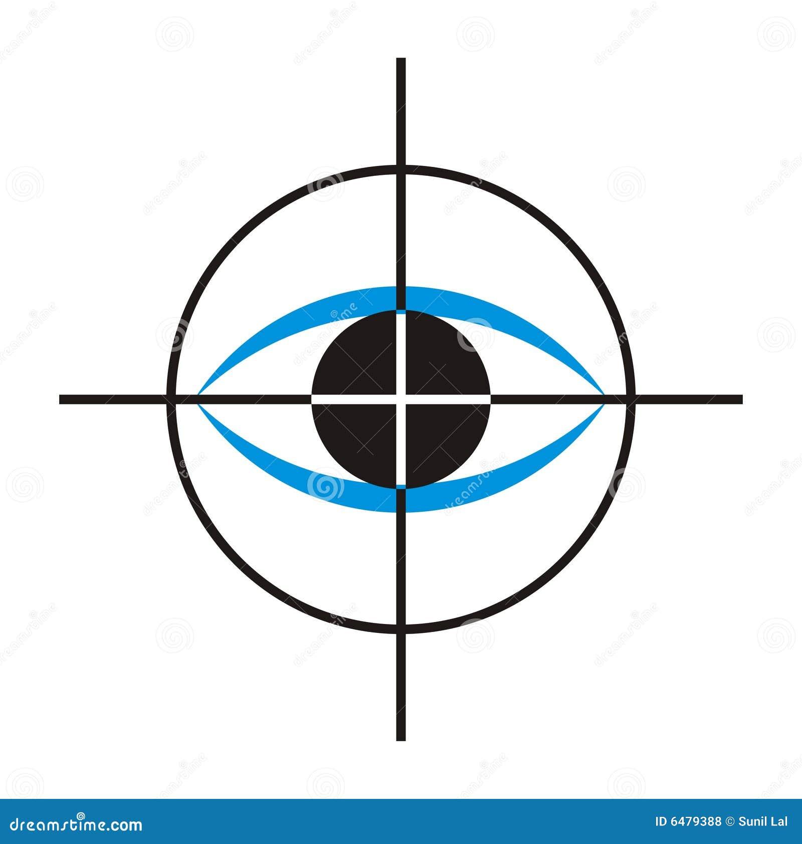De Zorg van het oog/Embleem 4 van de Kliniek