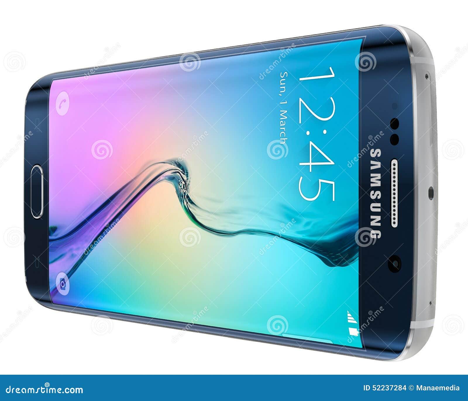 De zwarte Rand van Sapphire Samsung Galaxy S6