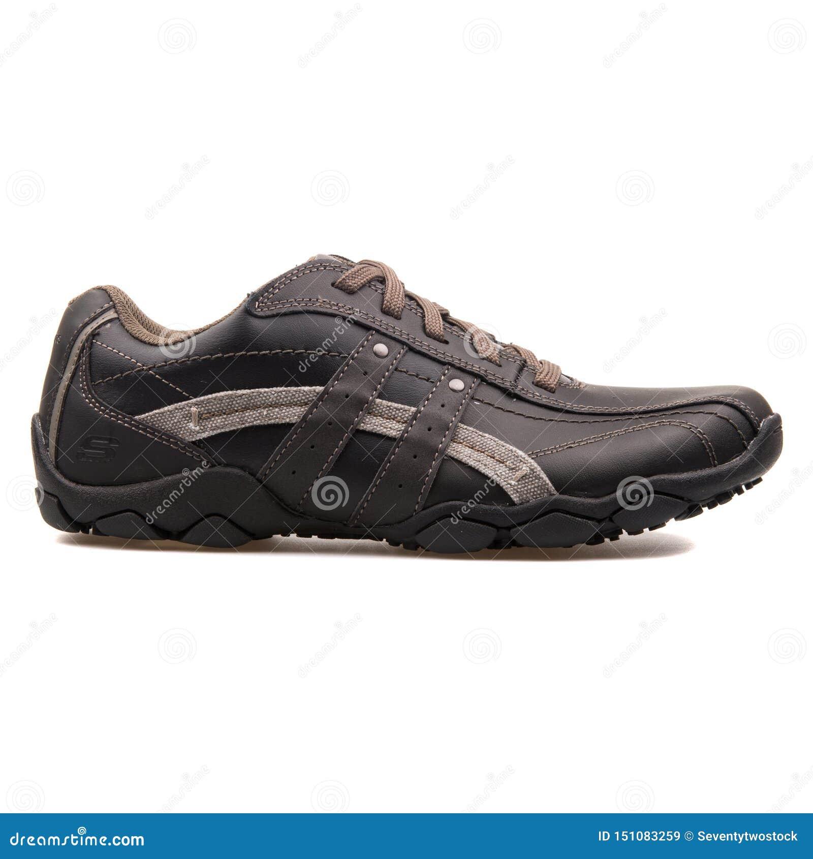 De zwarte tennisschoen van Blake van de Skechersdiameter