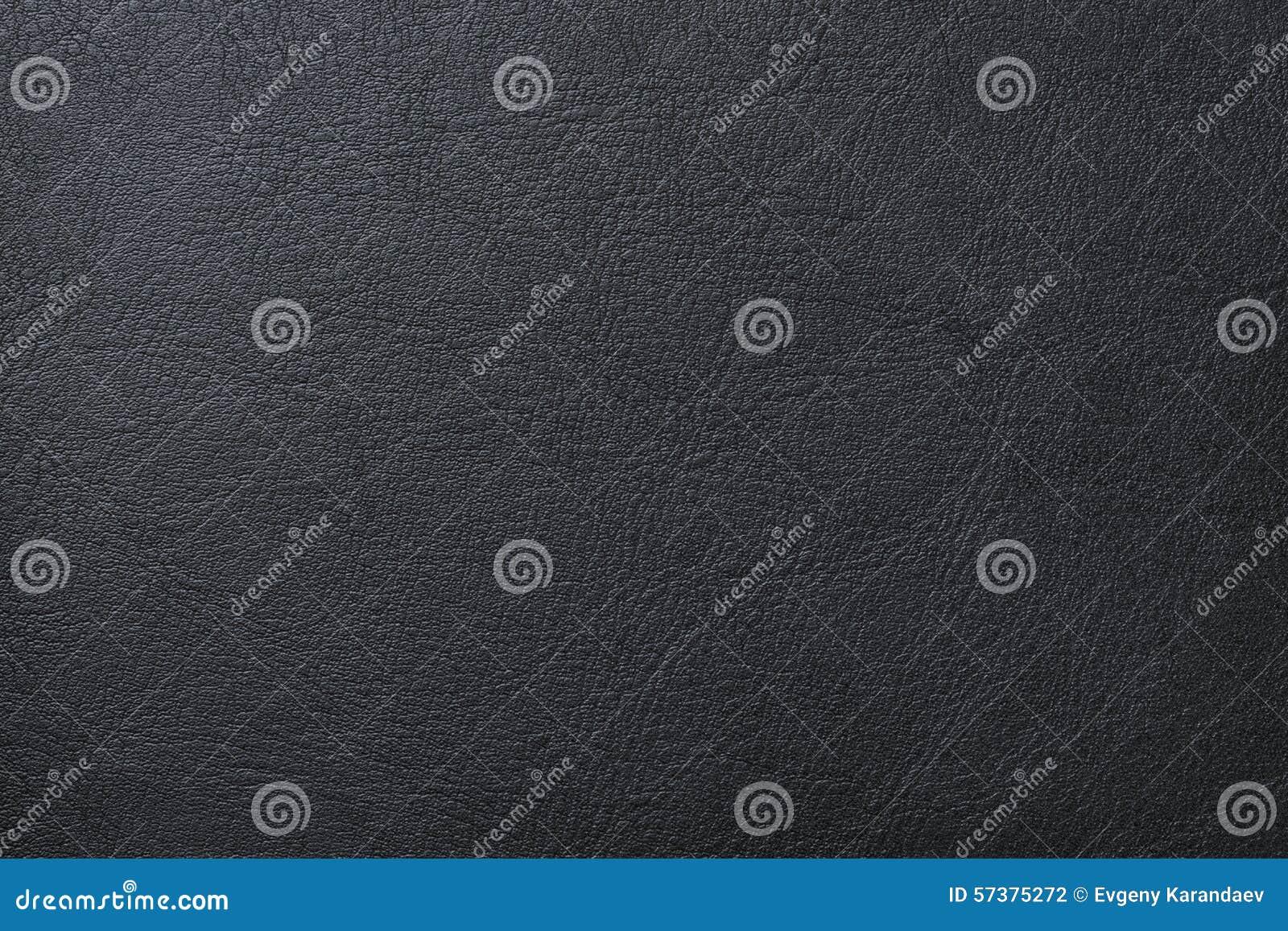 De zwarte Textuur van het Leer