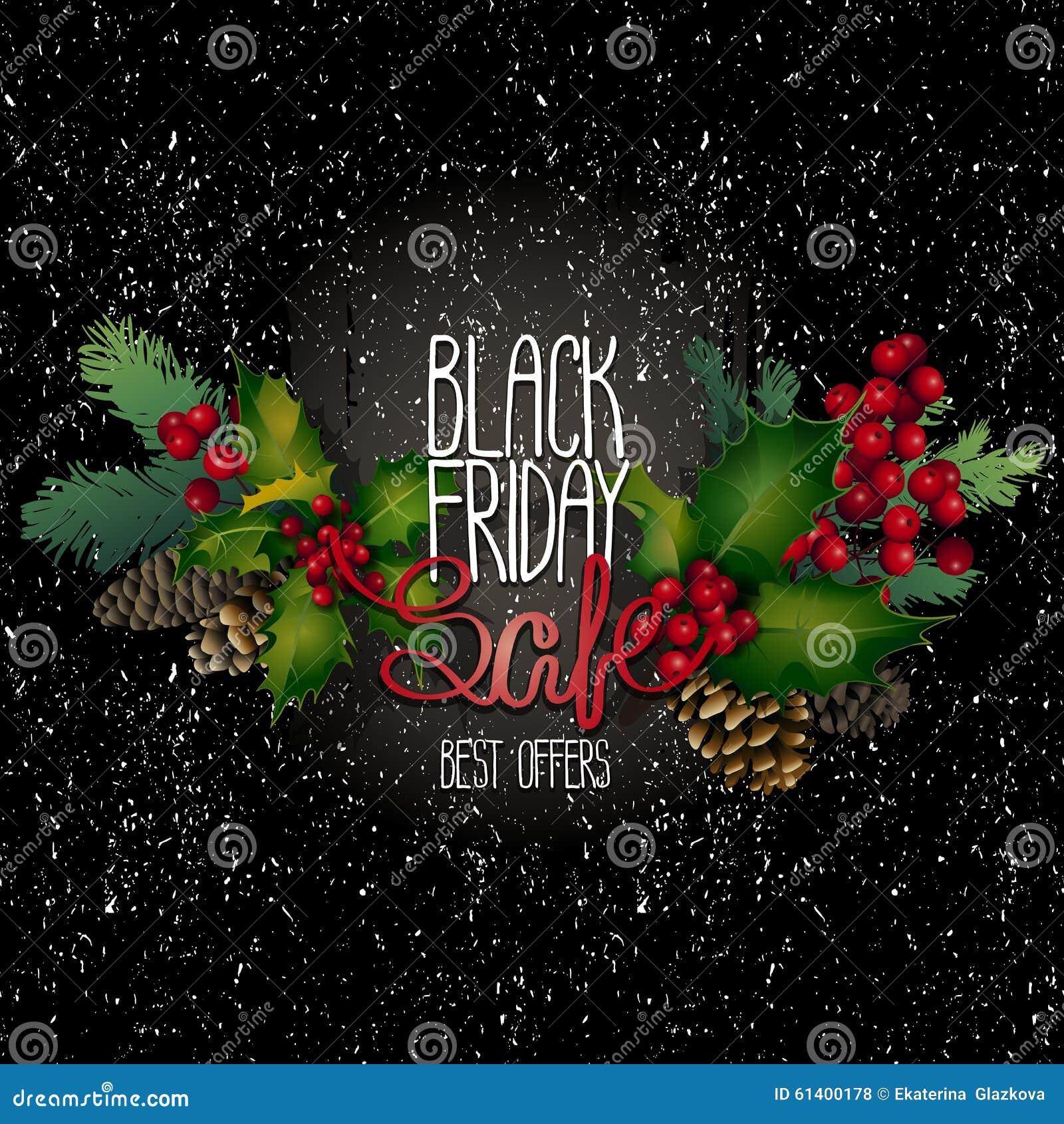De zwarte verkoop van de vrijdag vector illustratie afbeelding 61400178 - Zinkt de verkoop ...